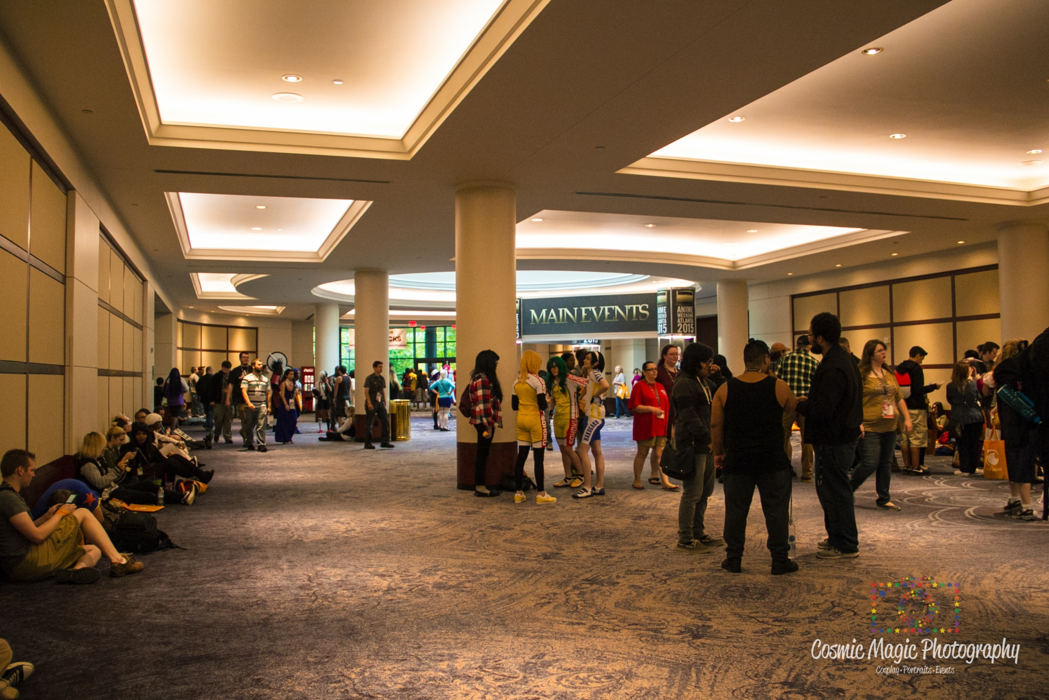 Anime Weekend Atlanta 2015 - Convention Area Shots by Gina Adkins