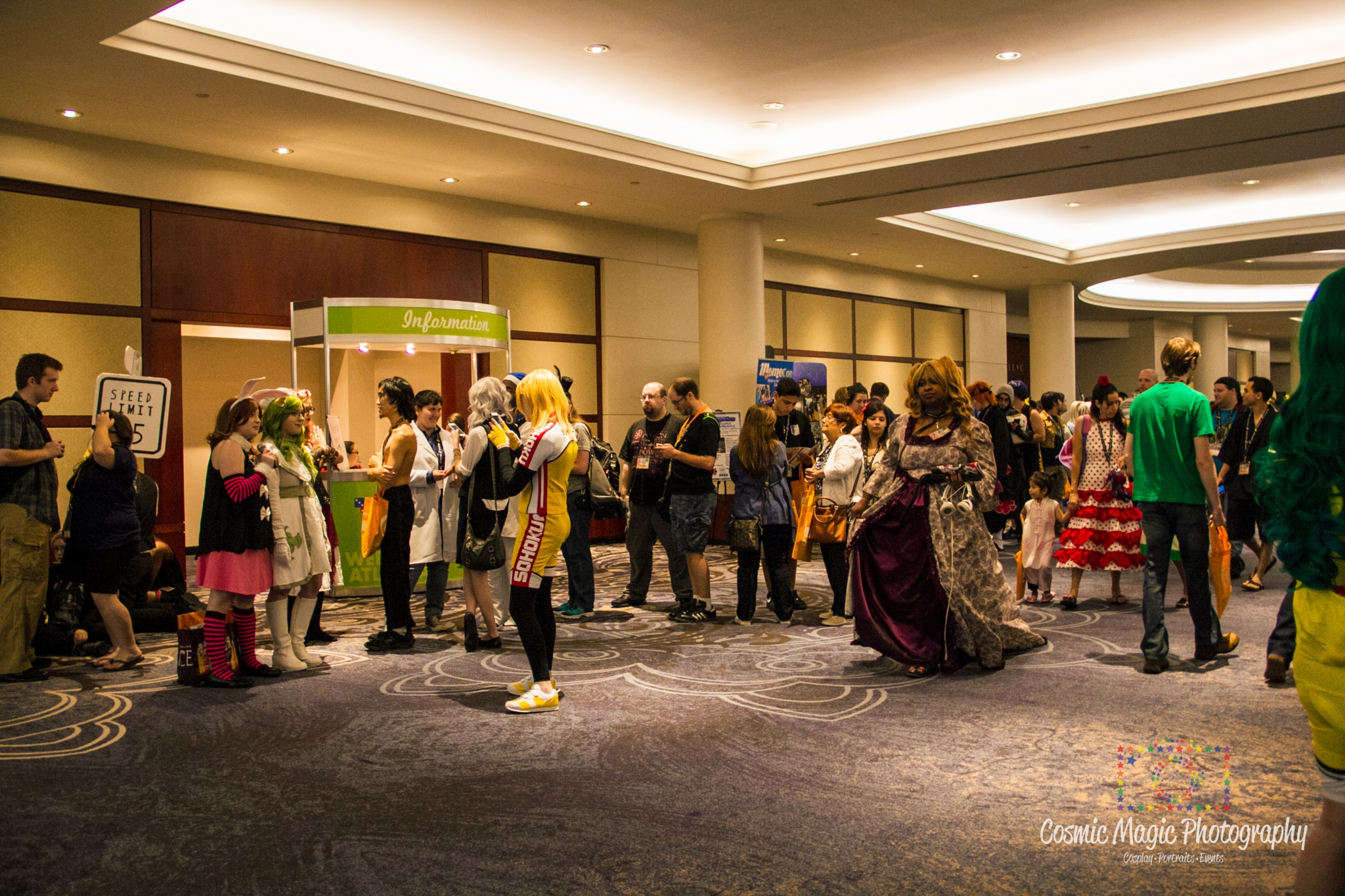 Anime Weekend Atlanta 2015 - Convention Area Shots by Gina Adkins