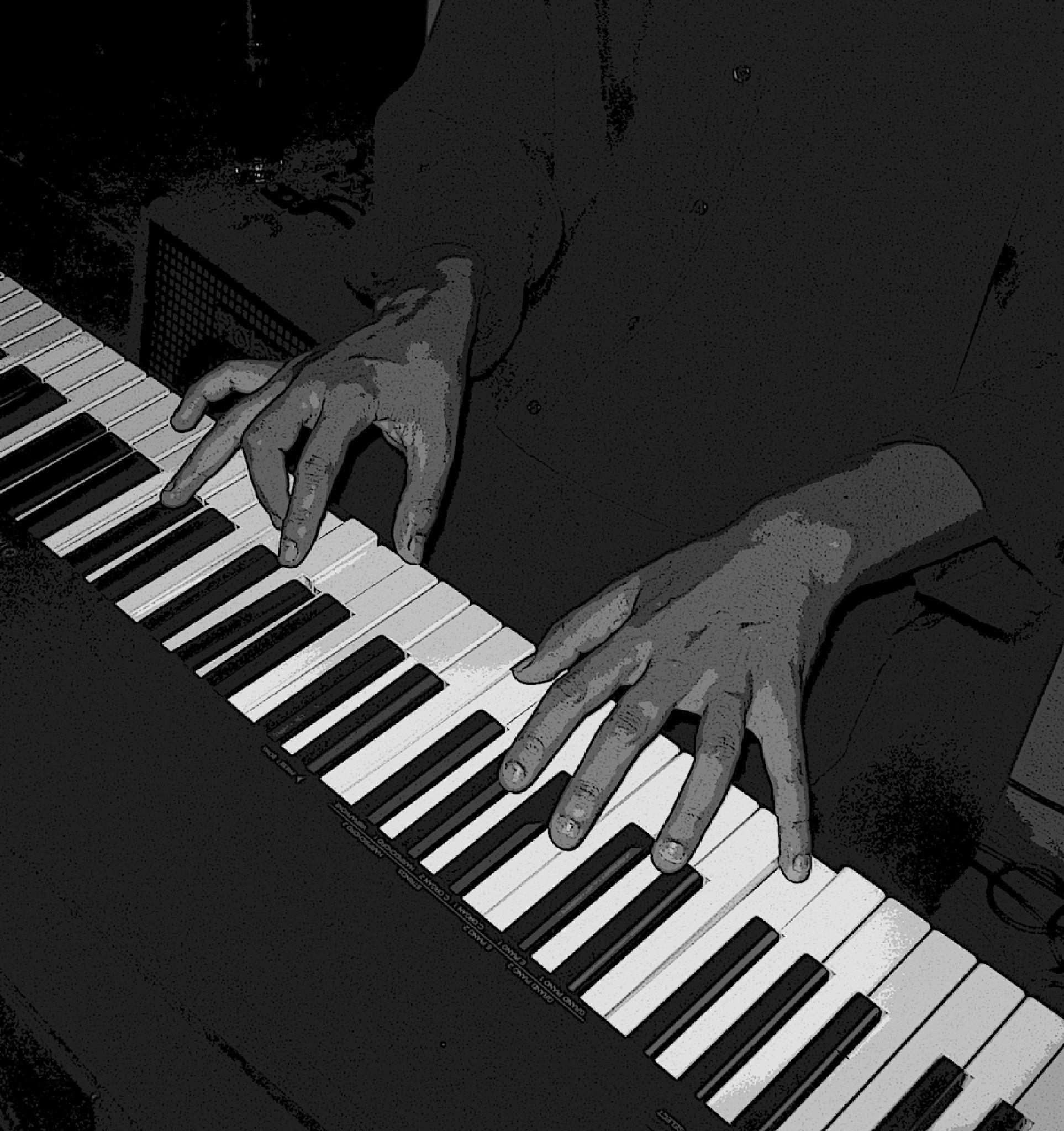 DIEGO RAMIREZ ON PIANO, 2005 by MarilynGraham