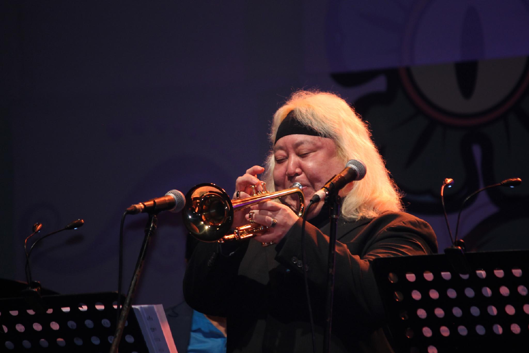 Photo in Concert #eric miyashiro #directo #trumpet #blue note #blue note tokyo all-star jazz #java jazz festival #indonesia