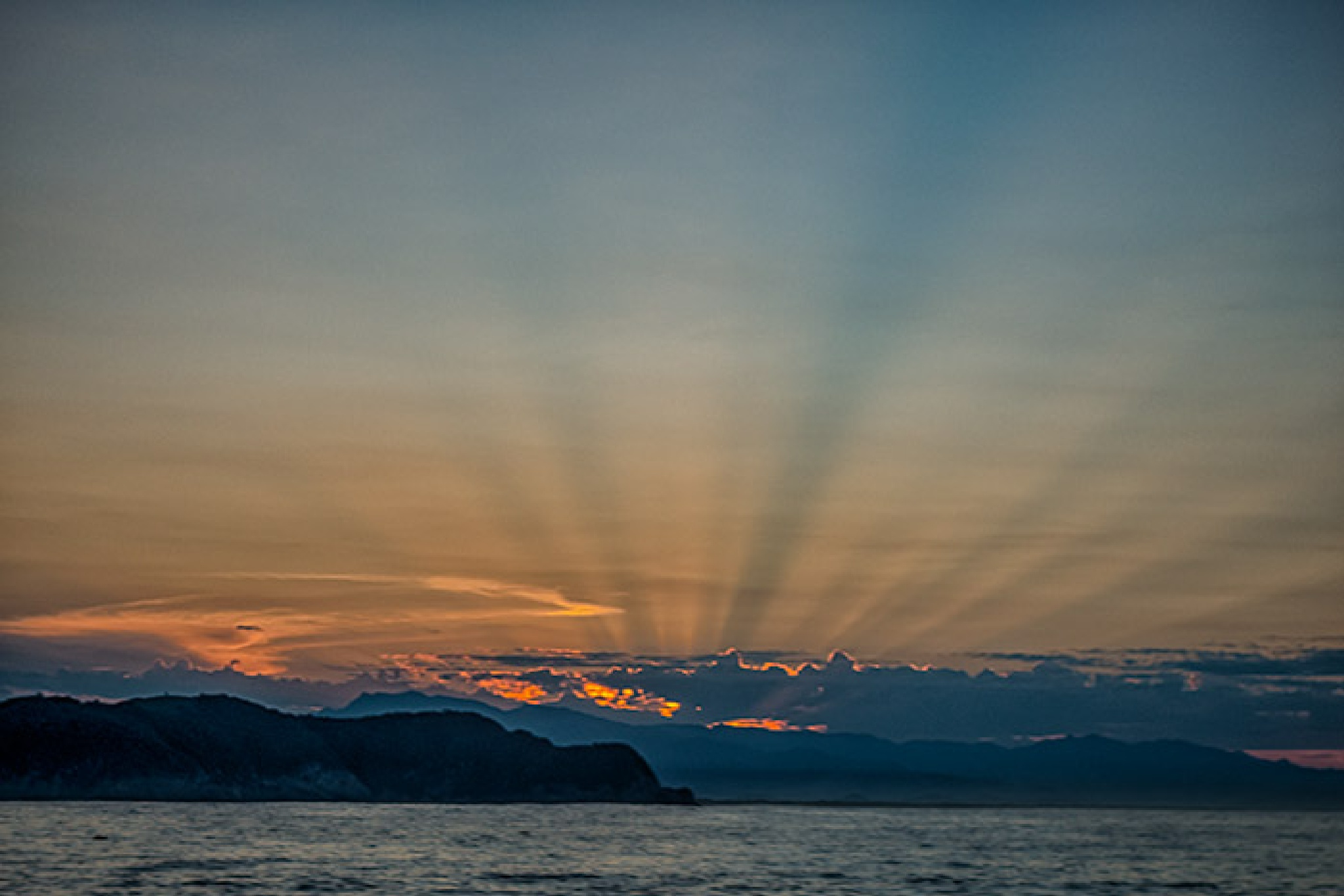 Crepuscular Rays by wilson