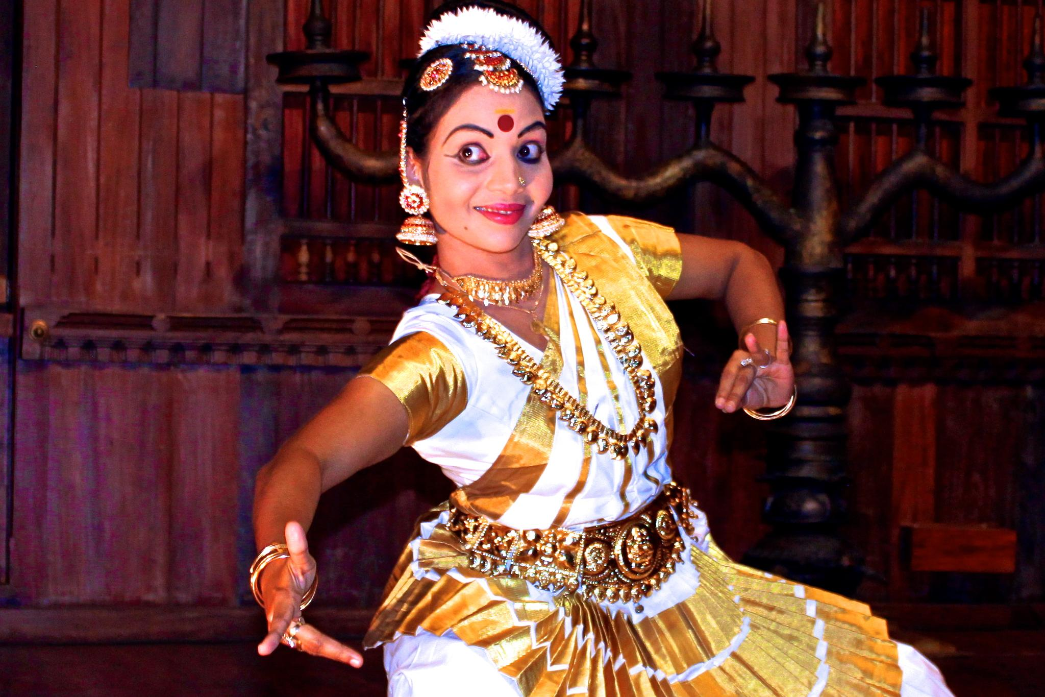 Dancer in Kerala, India by patricia_collins