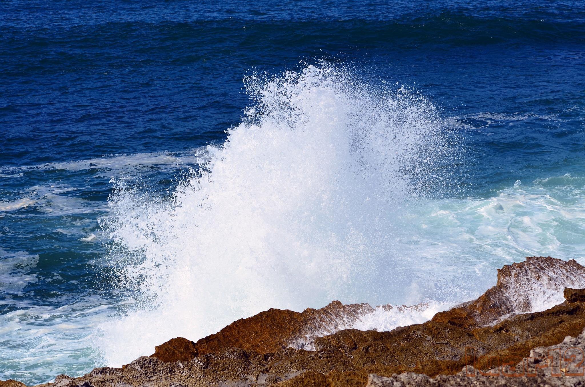quando o mar bate na rocha by luar12