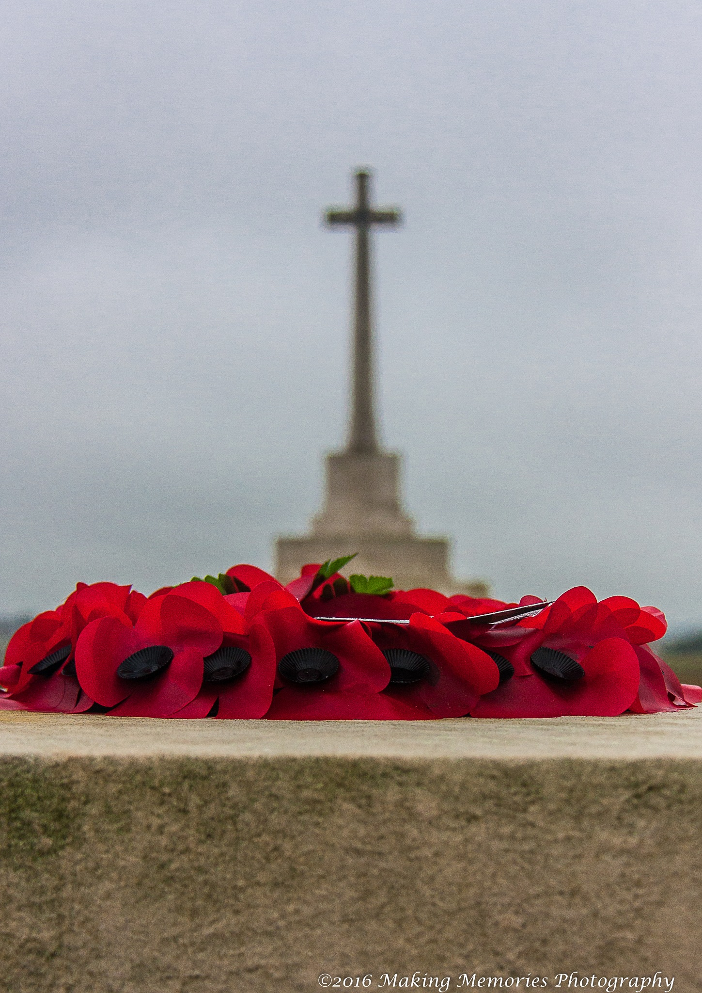 Tyne Cot Cemetary by Ronald Root