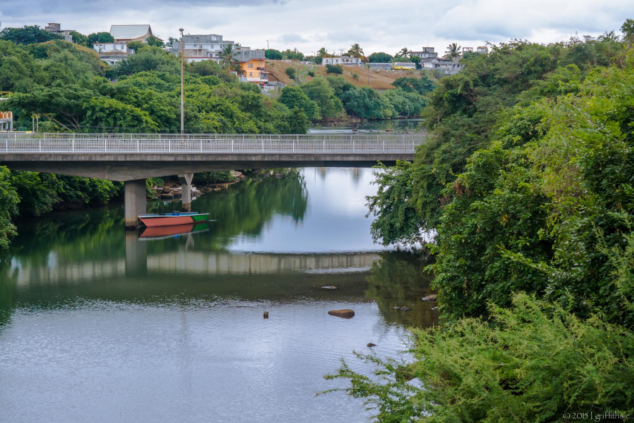 Photo in Landscape #mauritius #island #river #bridge #indian ocean