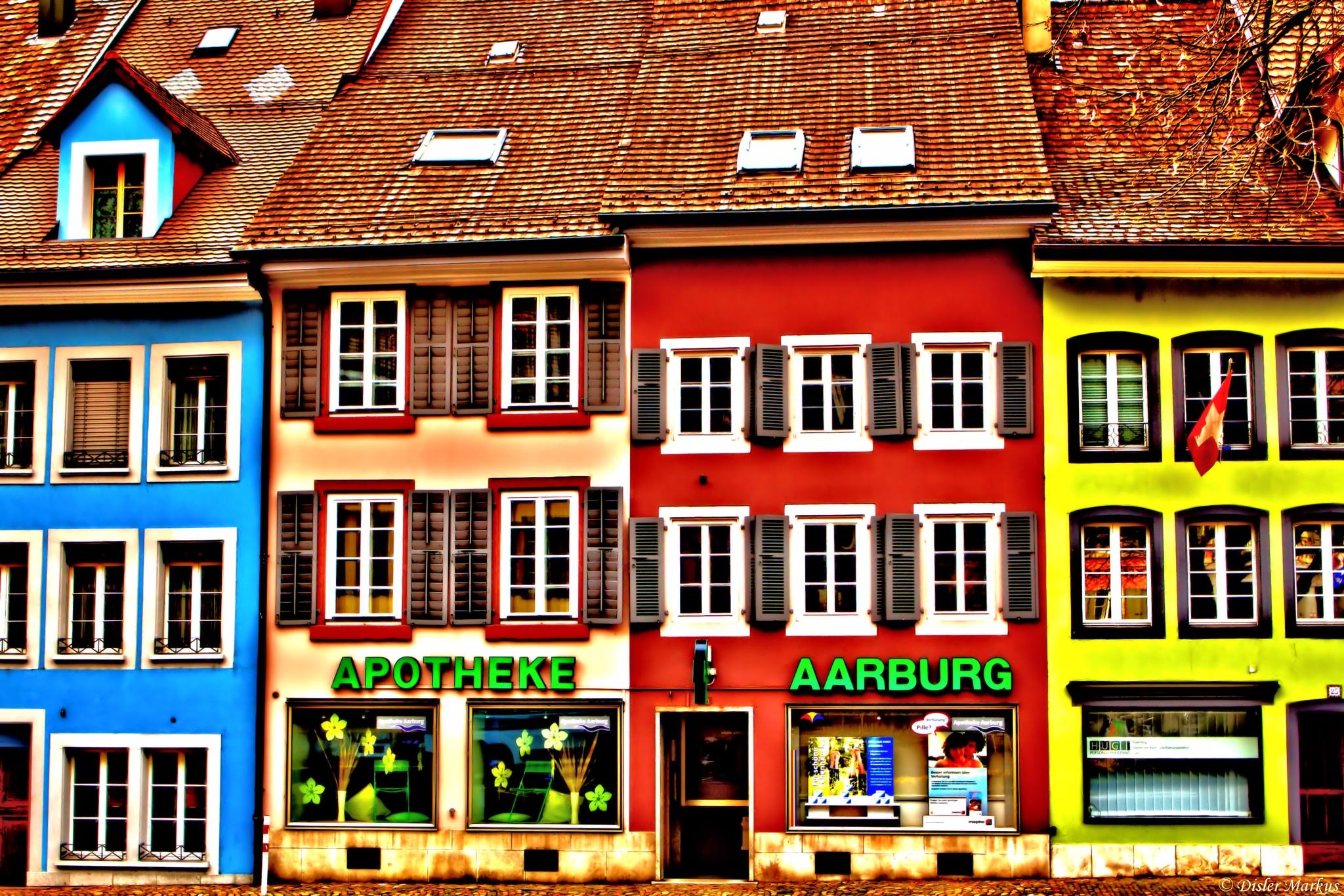 Old town of Aarburg by Disler Markus