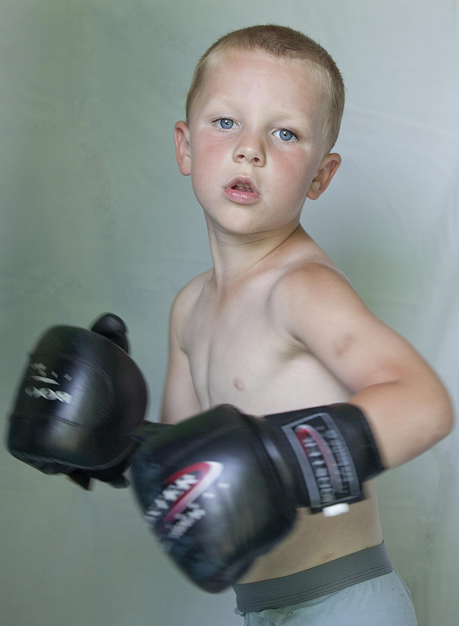Young fighter by stam.john1