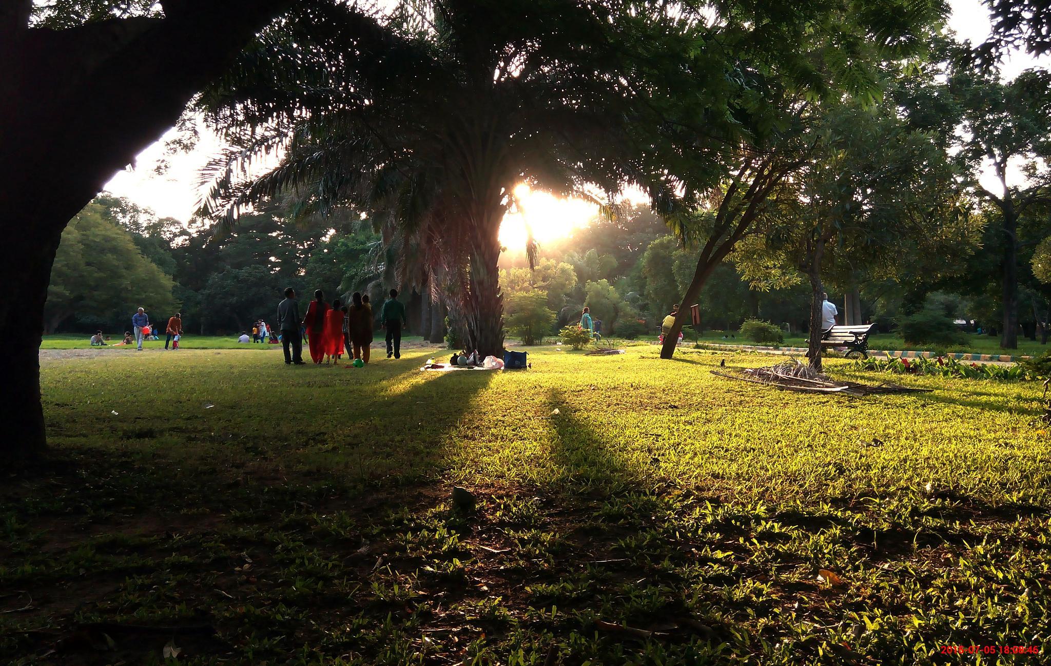 Park people by ManeeshNair