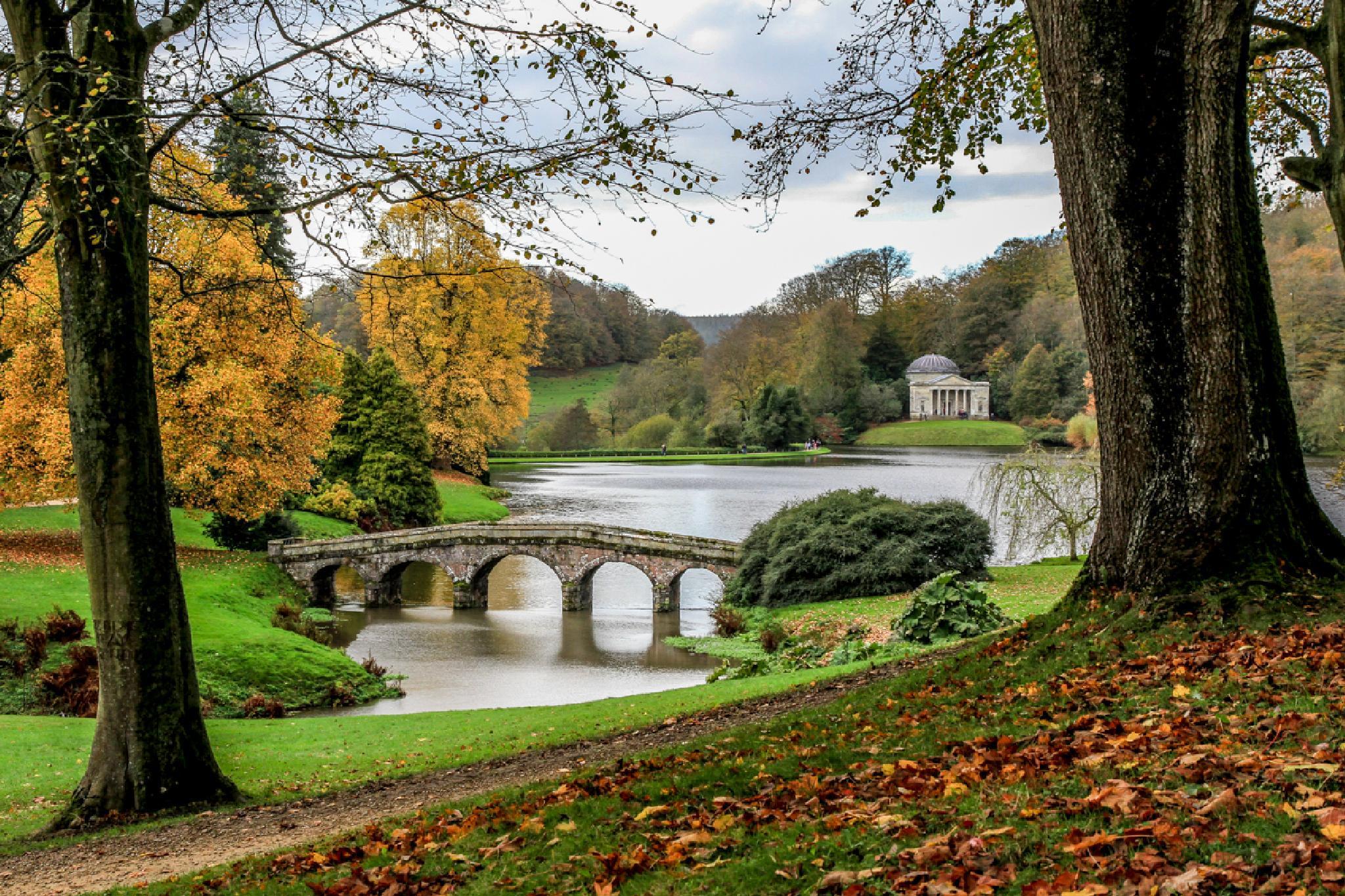 Stourhead gardens Wiltshire UK by MarkBriscoe