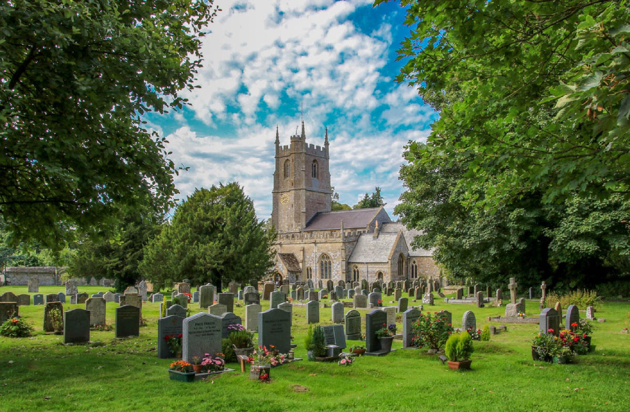 Avebury church Wiltshire by MarkBriscoe