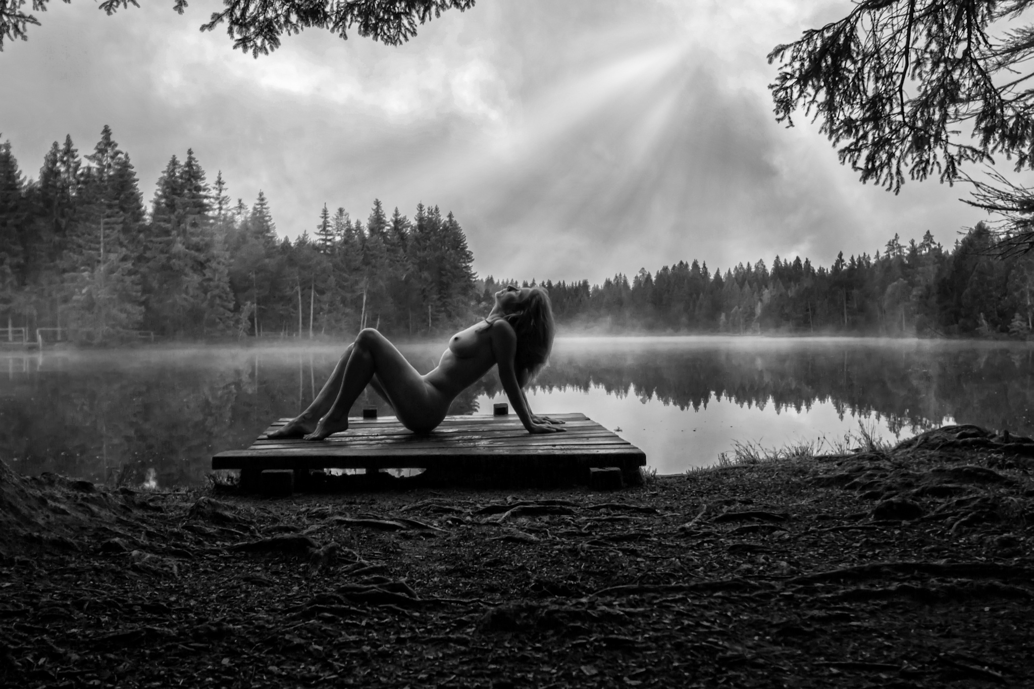 Nude in Morning by bjoerngotzmann