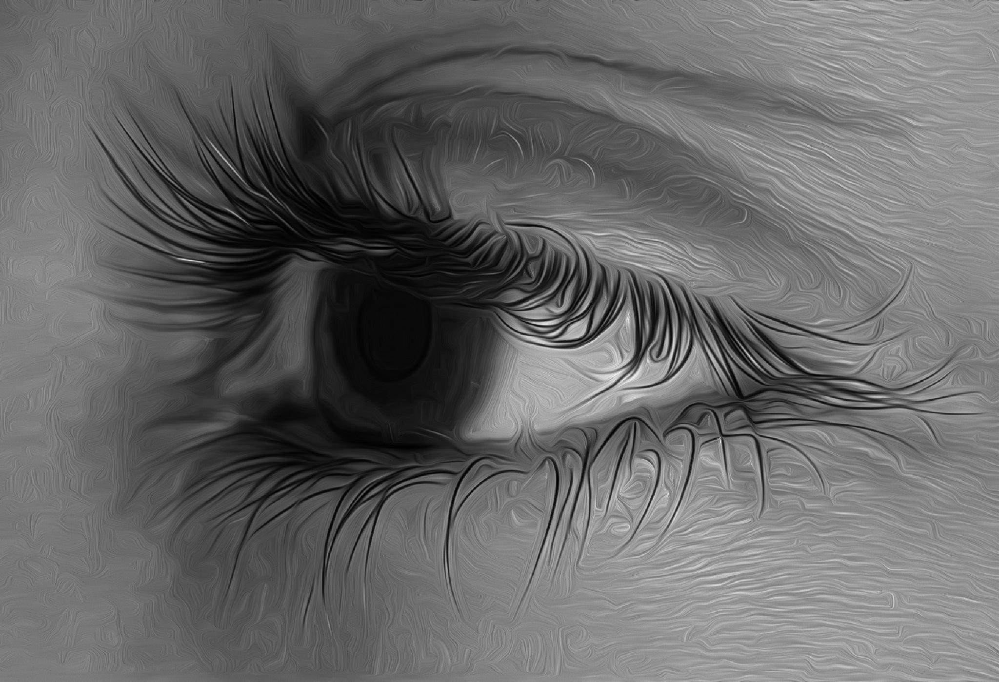 Innocent eyes by Hamoud Khaled