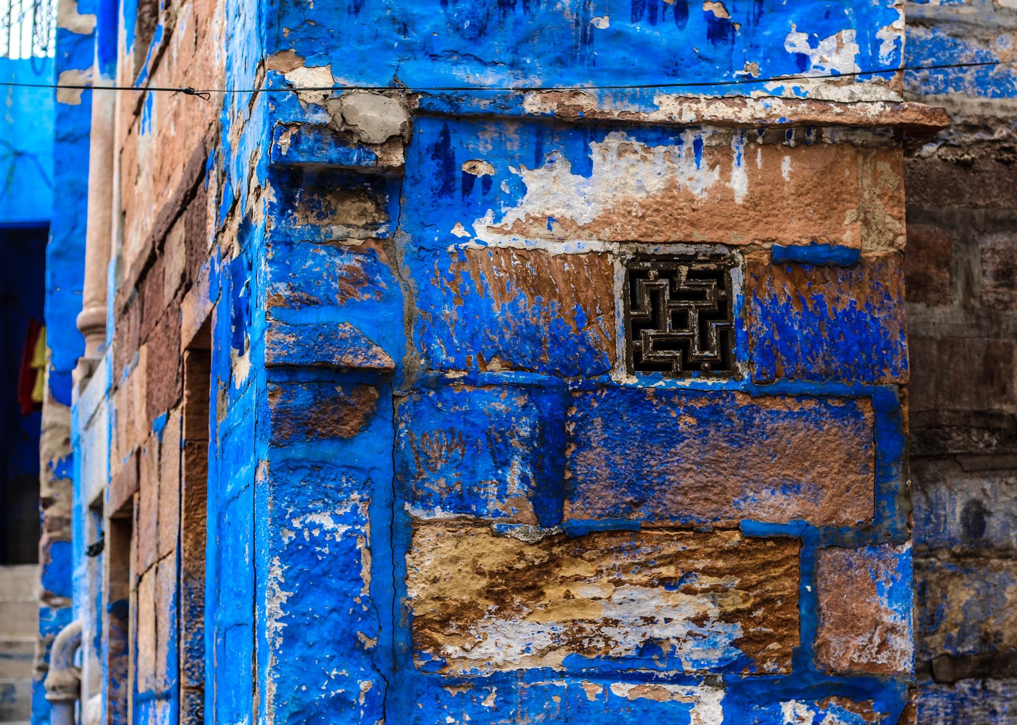 something from the blue city by Varsha Gupta