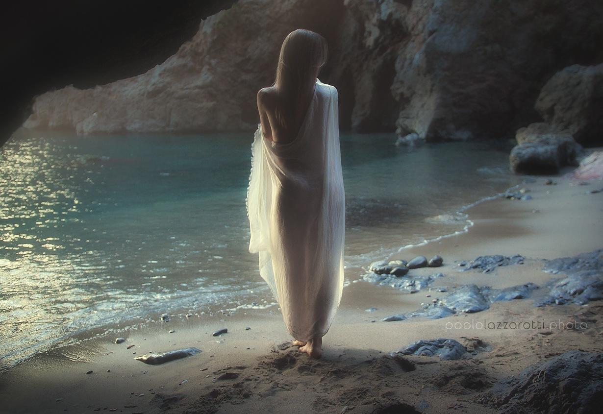 Eva in Paradise by Paolo Lazzarotti