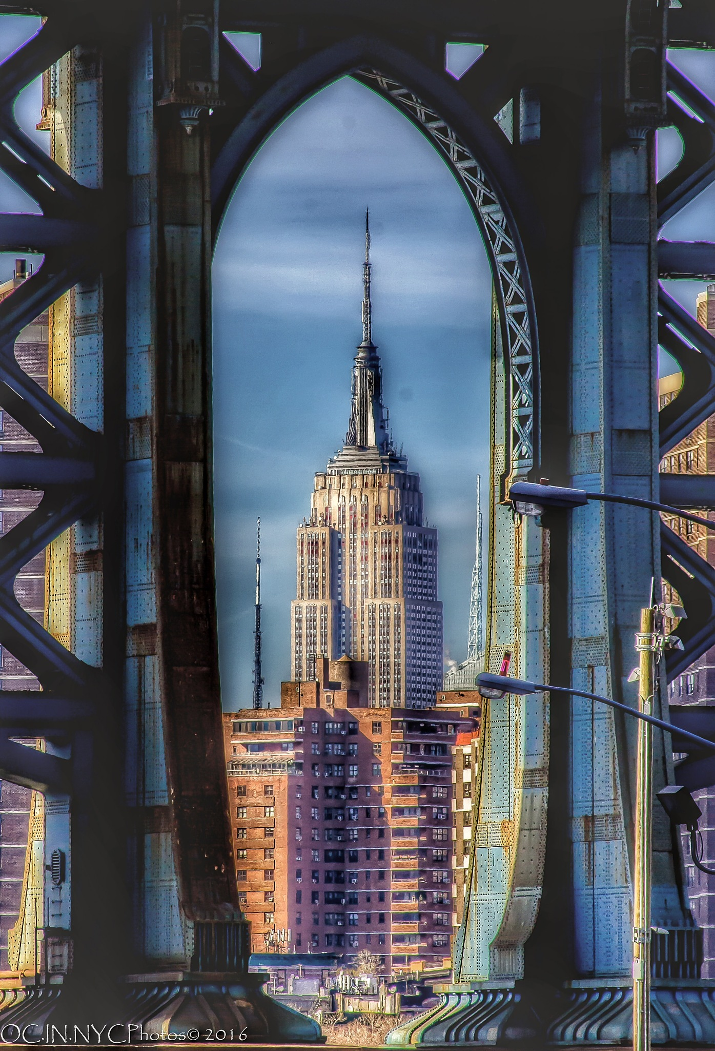 Empire State Of Mind by Ocie Clelland