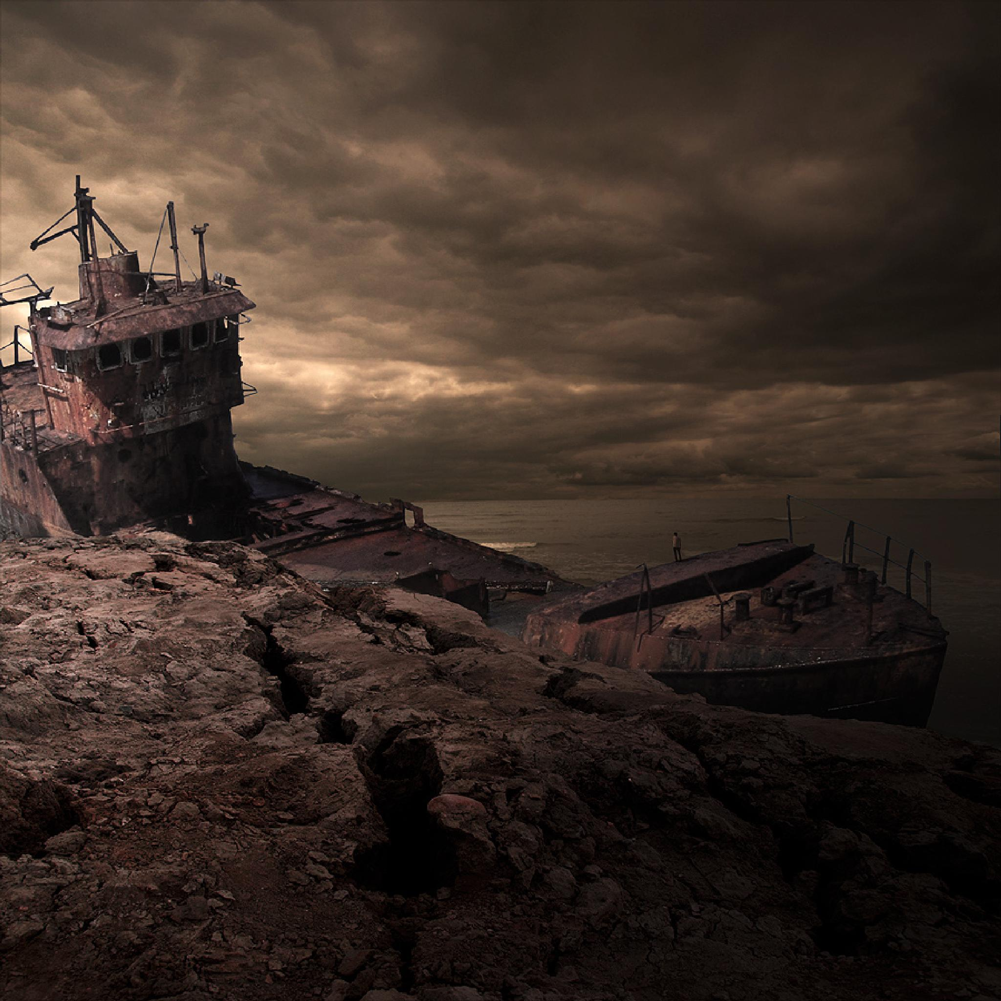 Haunted wreck by Tom