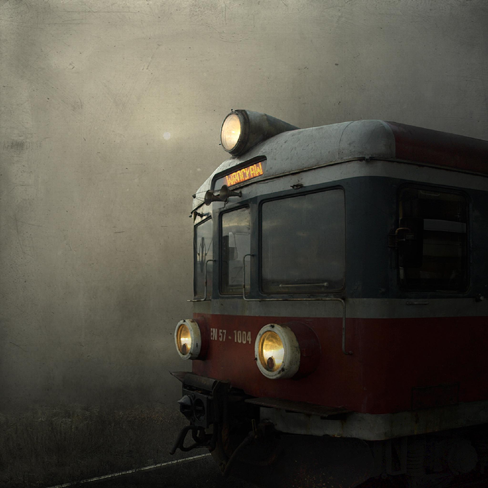 Photo in Abstract #train #sun #photoshop