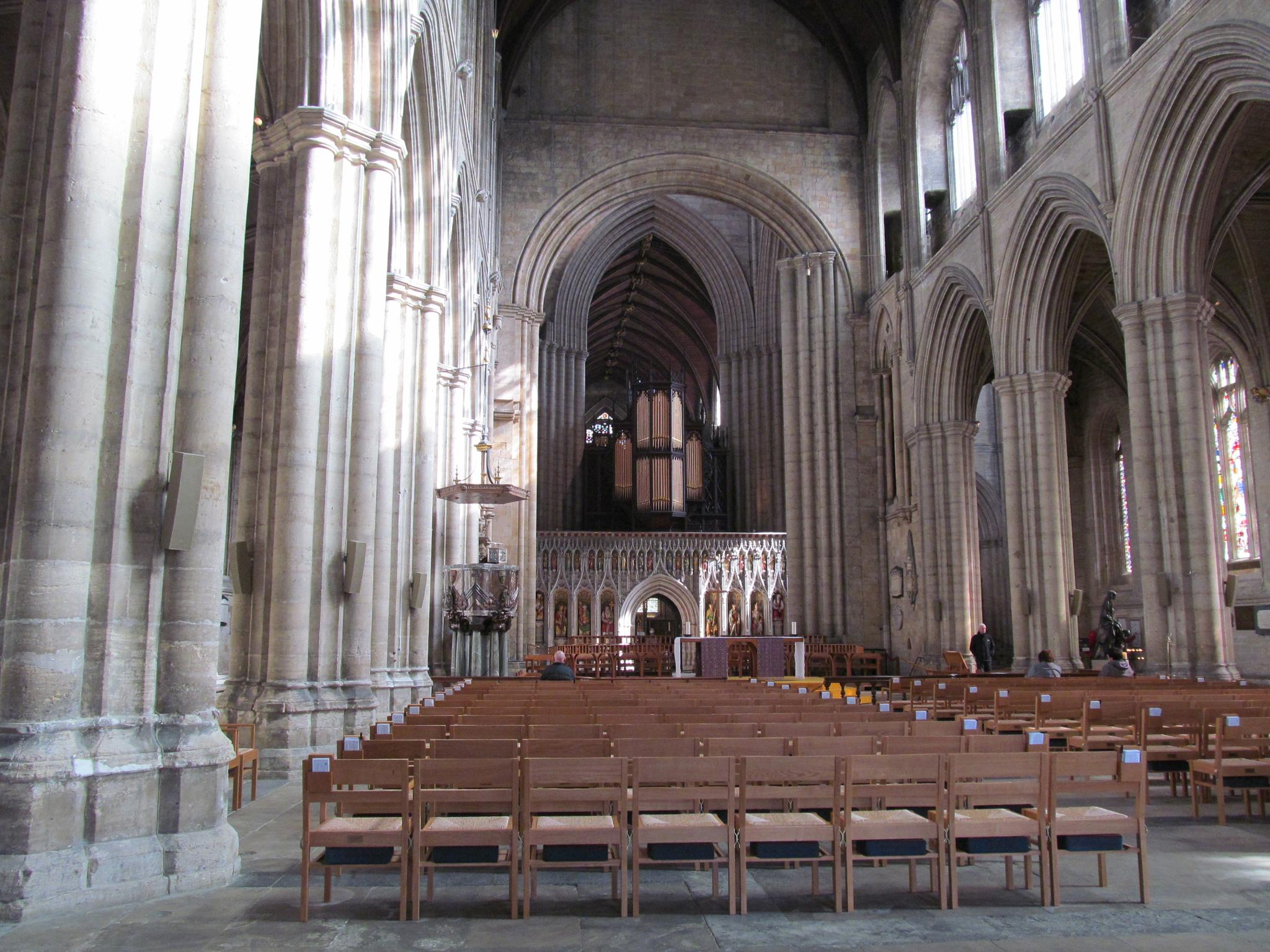 Ripon Cathedral by joan croll