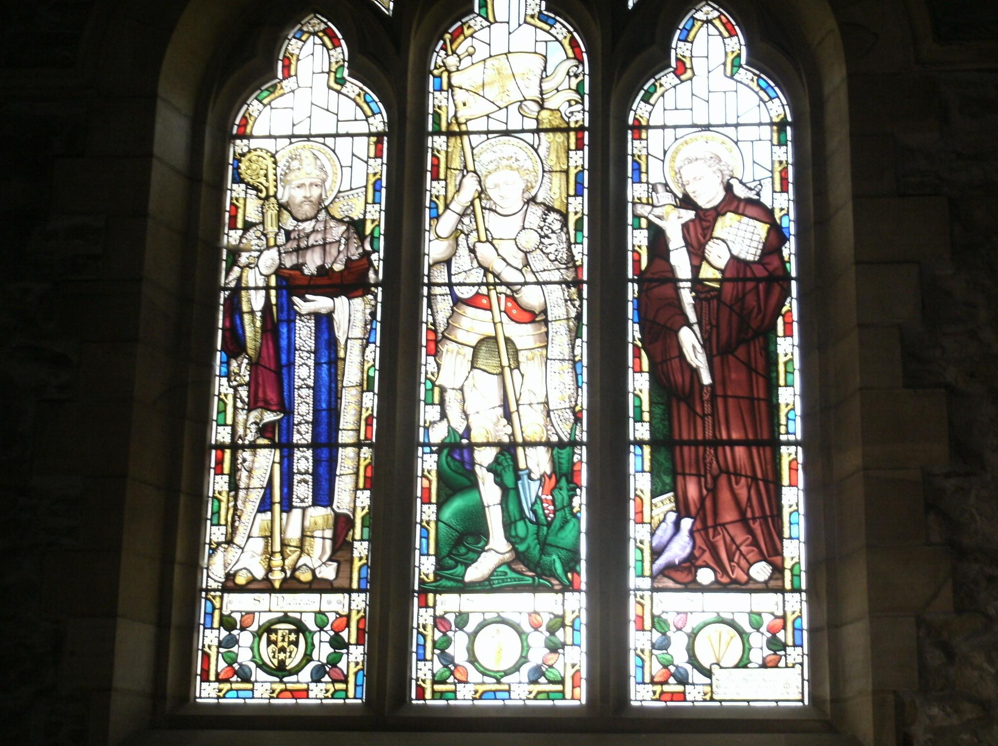 Church windows by joan croll