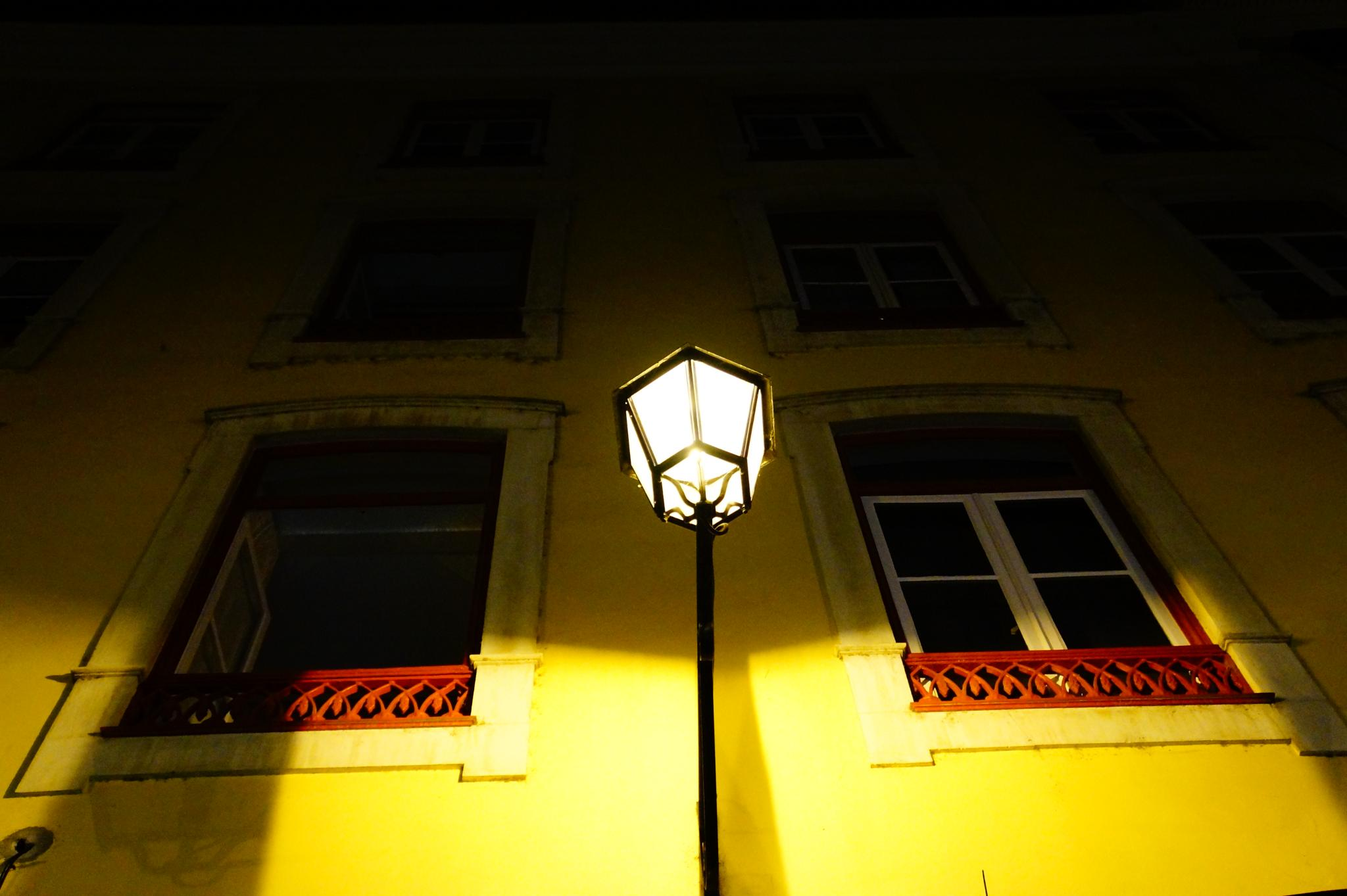 Yellow light by Miguel Angelo