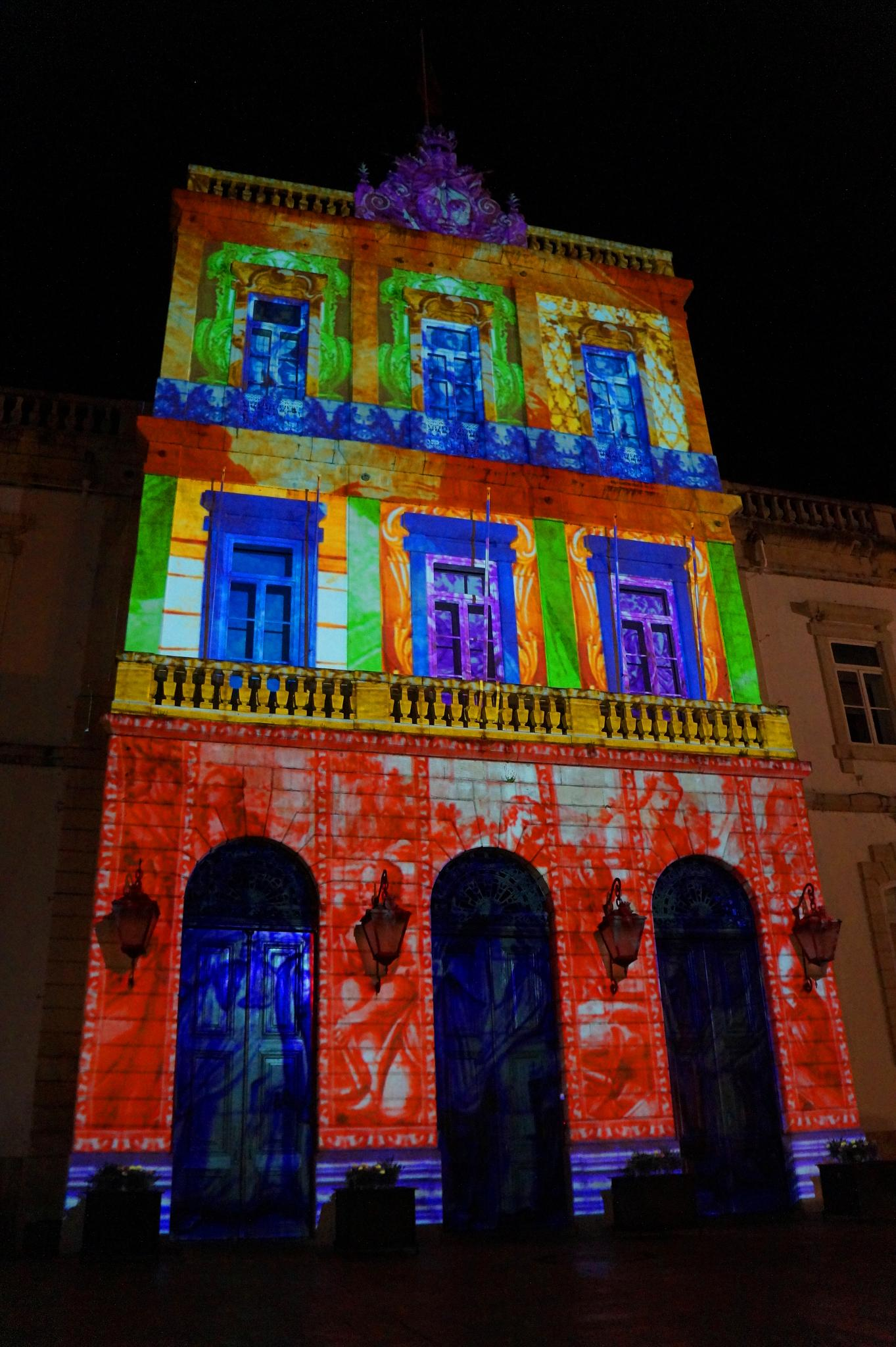 The collor of lights by Miguel Angelo
