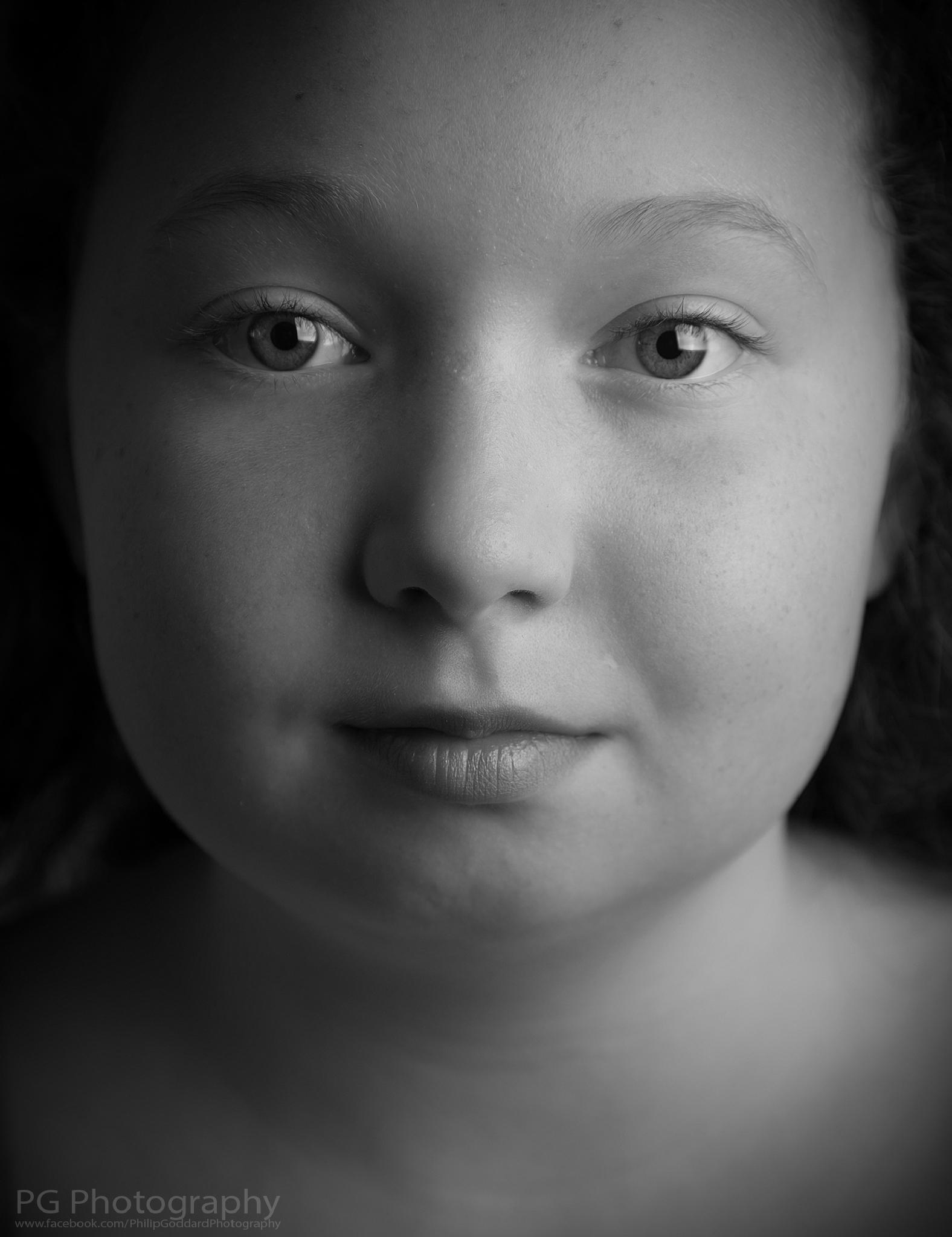 Photo in Portrait #portrait #flash #mono