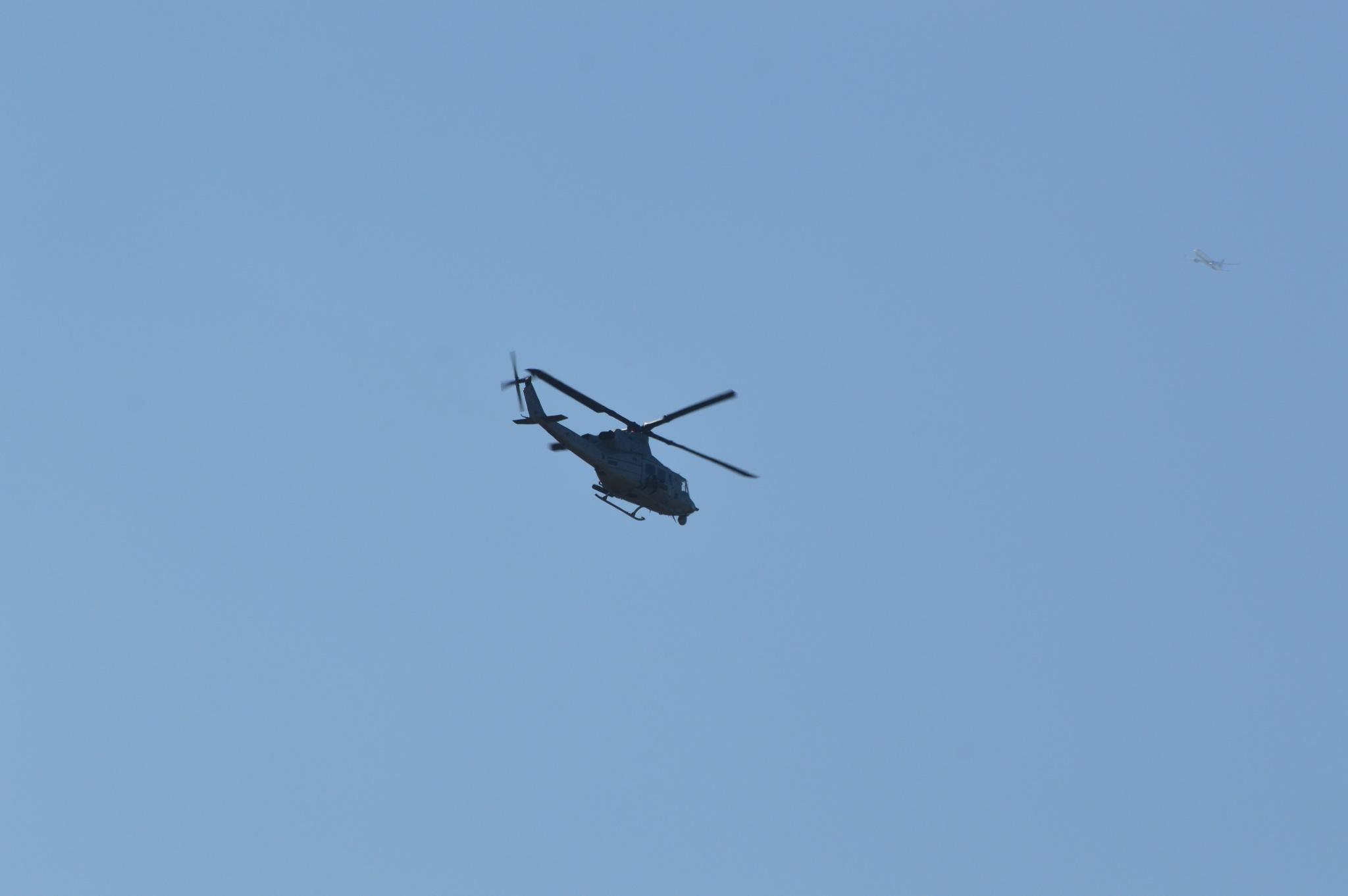 U.S. Marine UH-1Y Huey by ERock23