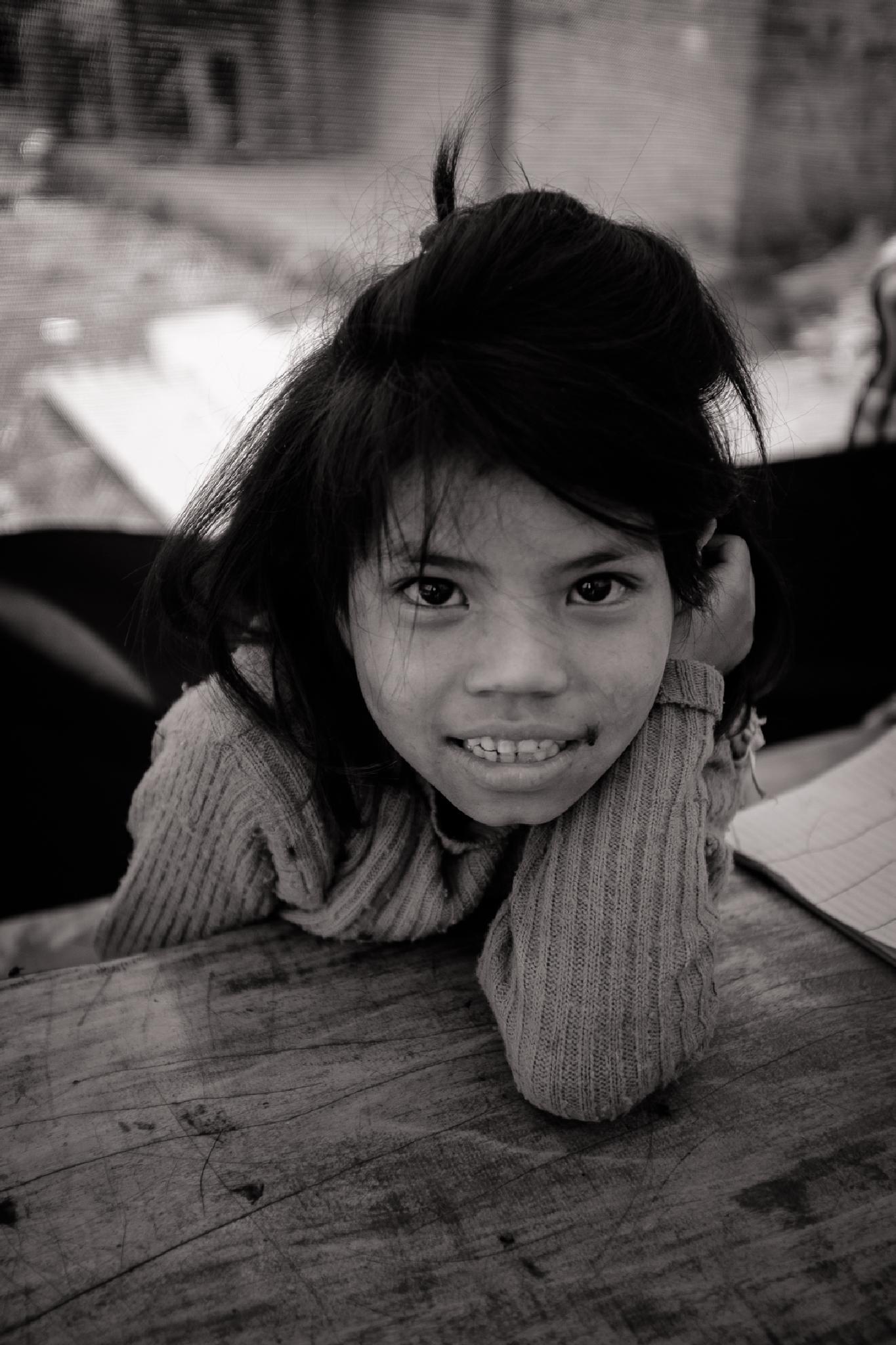 Girl in Attarpur, Nepal by byron