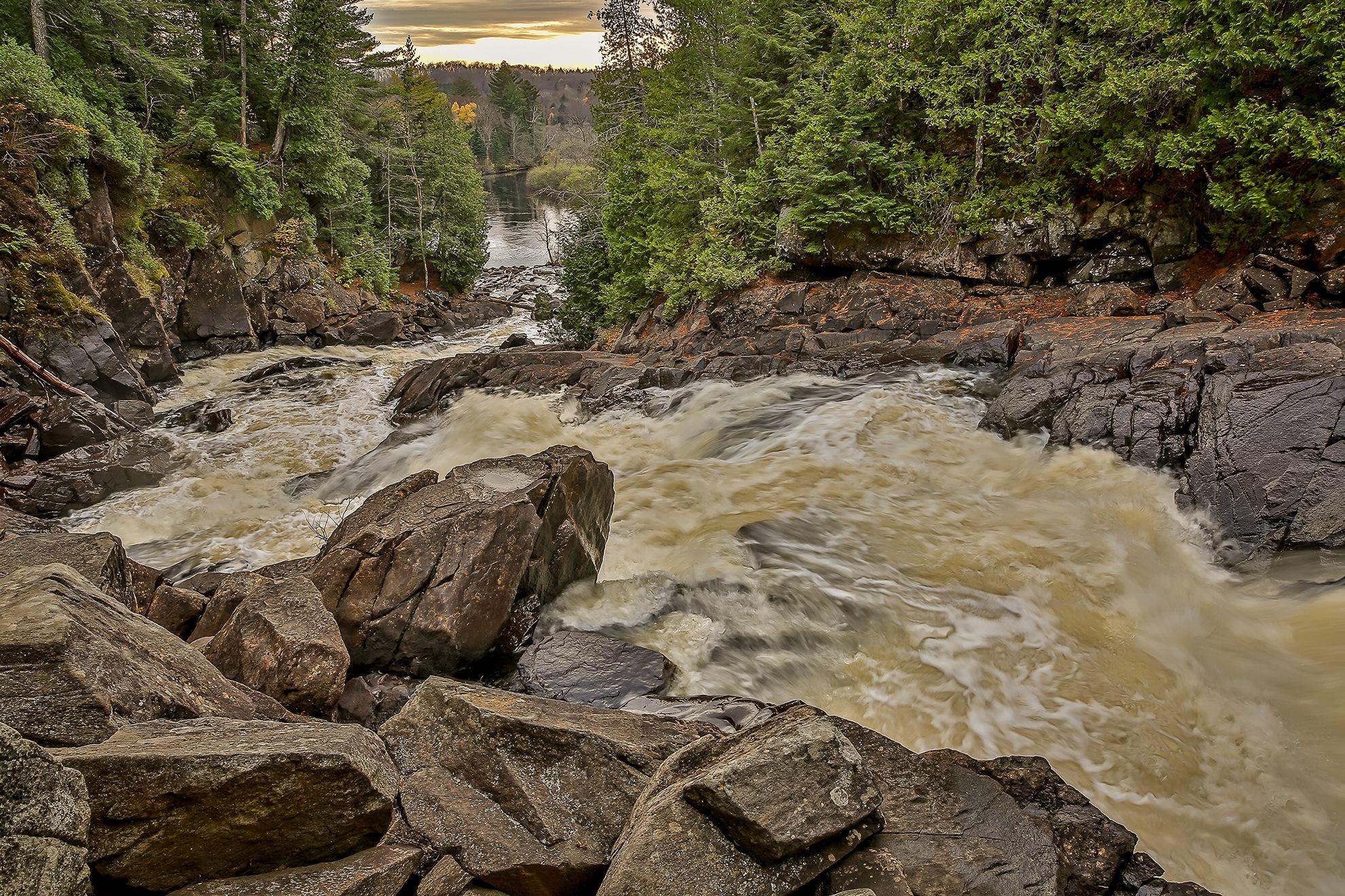 Ragged Falls by Steve Dunsford
