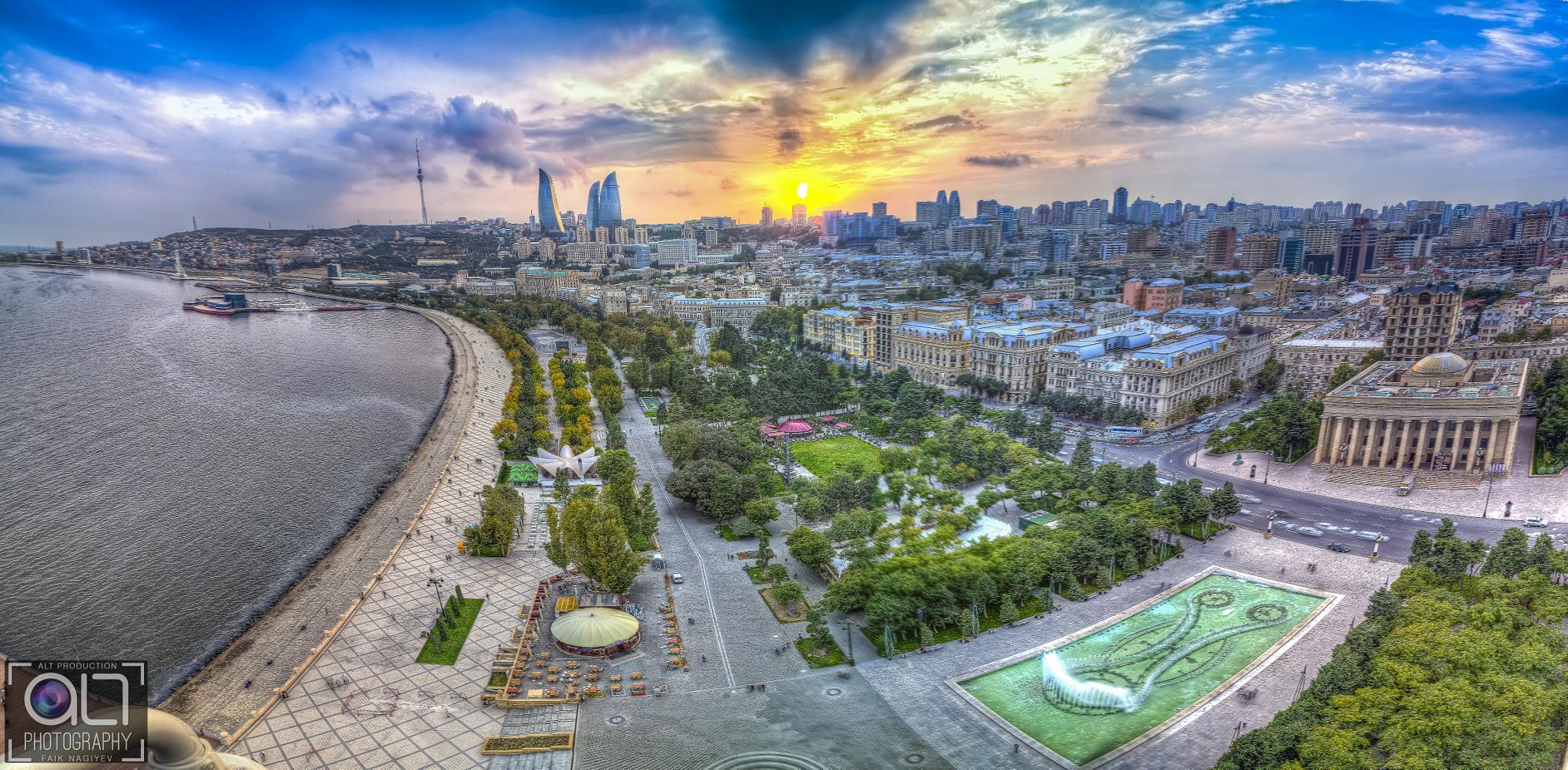 Roof view by Faik Nagiyev