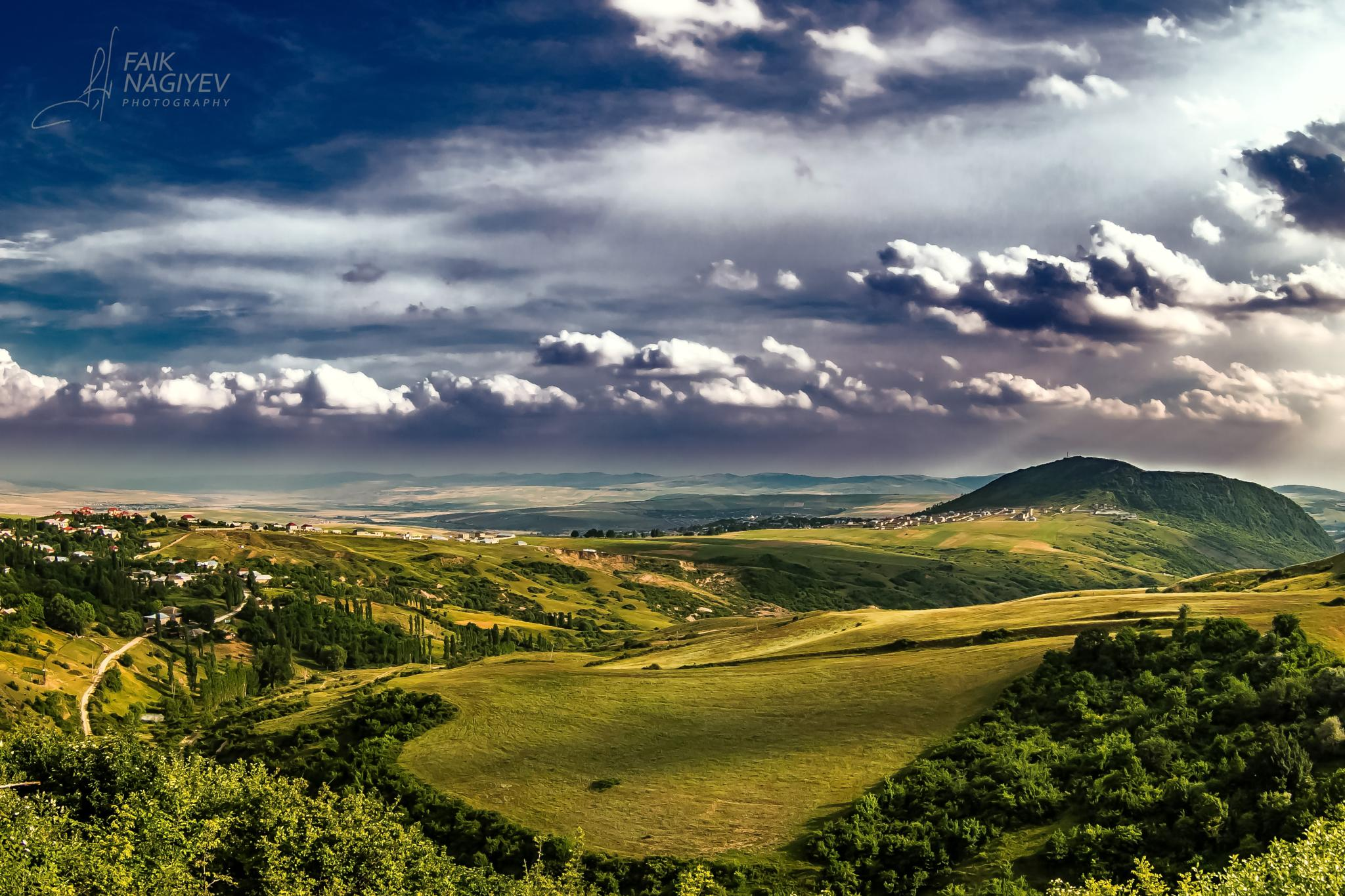 Priquli panorama by Faik Nagiyev