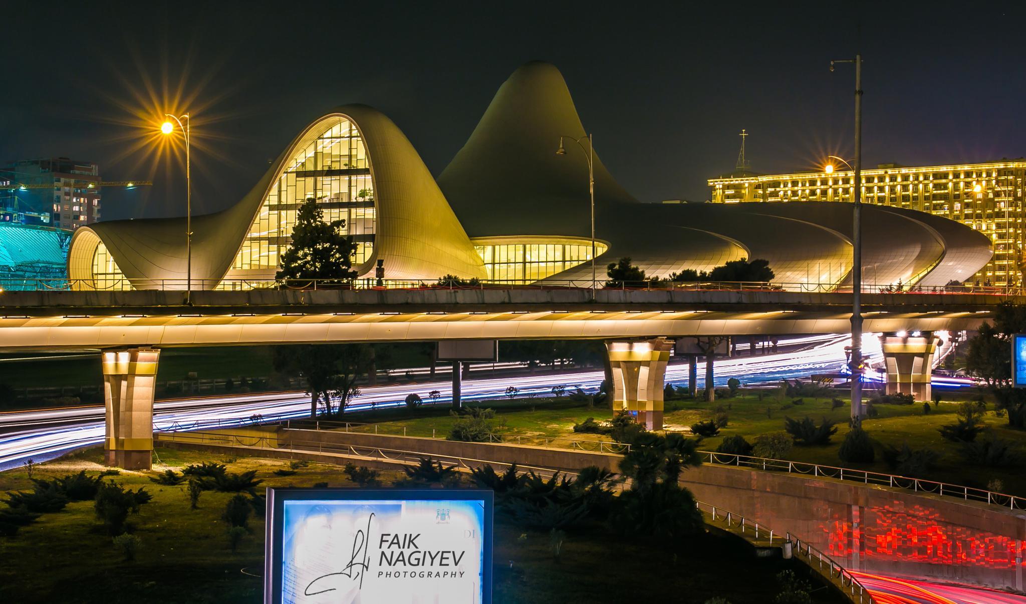 Heydar Aliyev Center by Faik Nagiyev