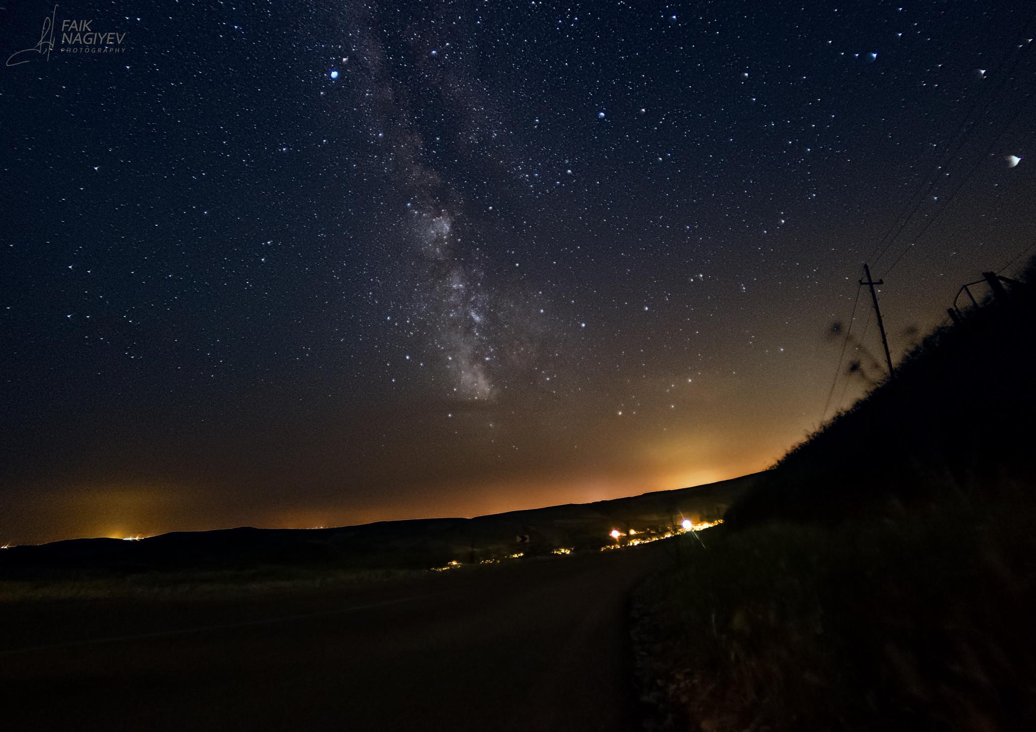 Calmness under the Milky Way by Faik Nagiyev