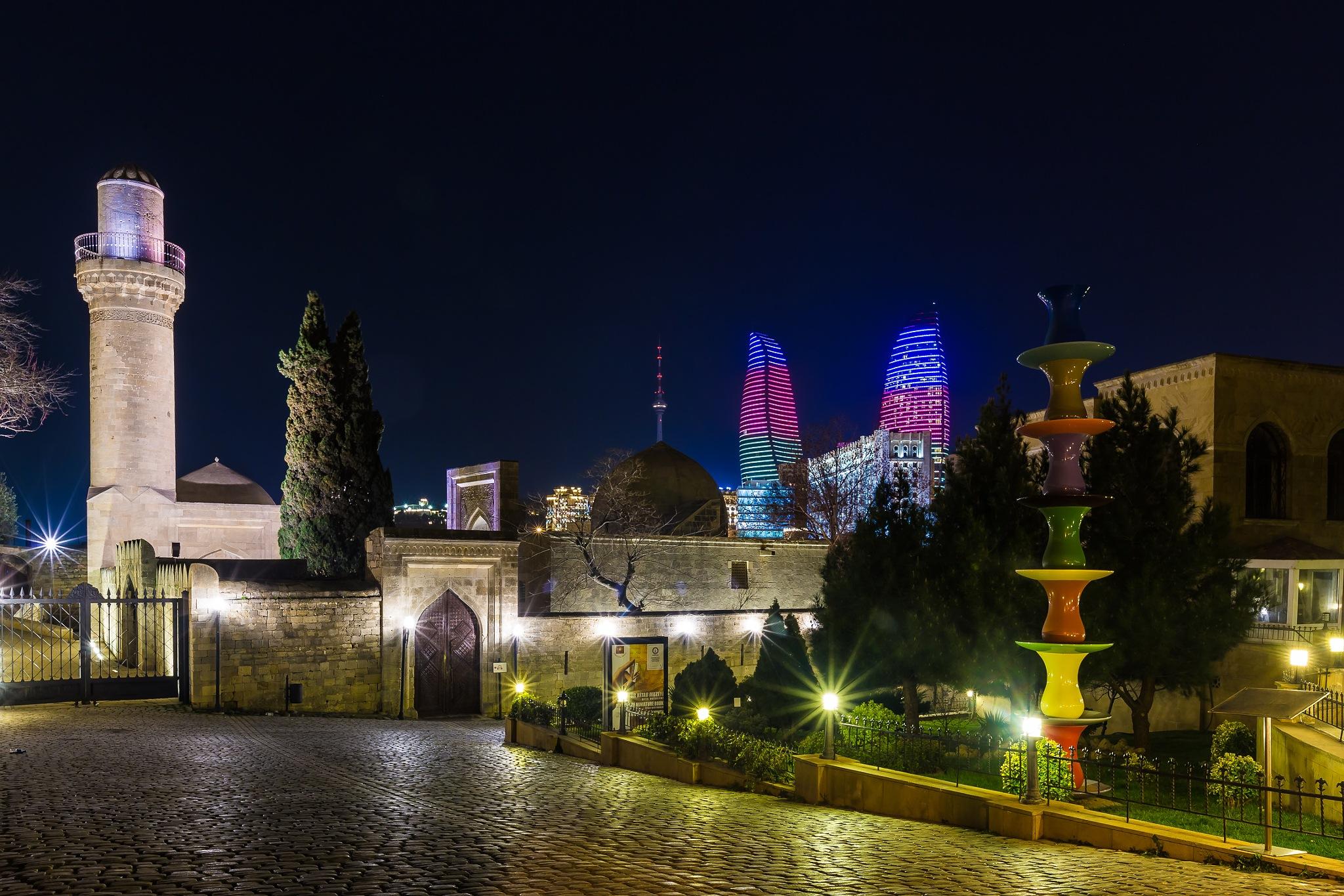 Old City by Faik Nagiyev