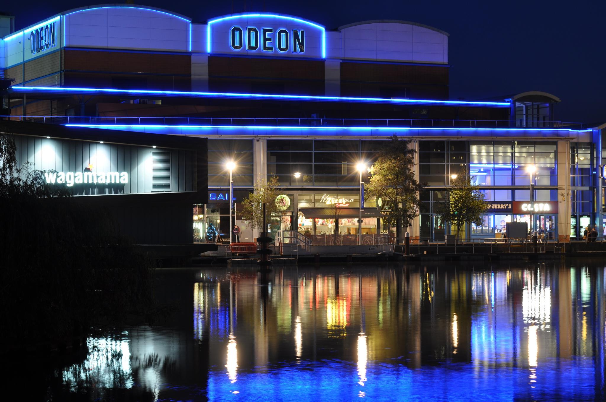 LINCOLN AT NIGHT.( UK) by David Mckenna