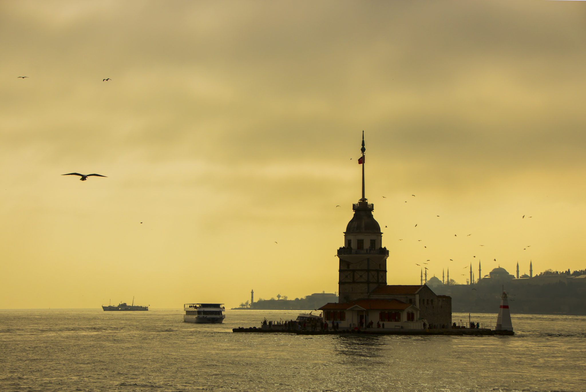 Maiden's Tower by Zafer Ergen