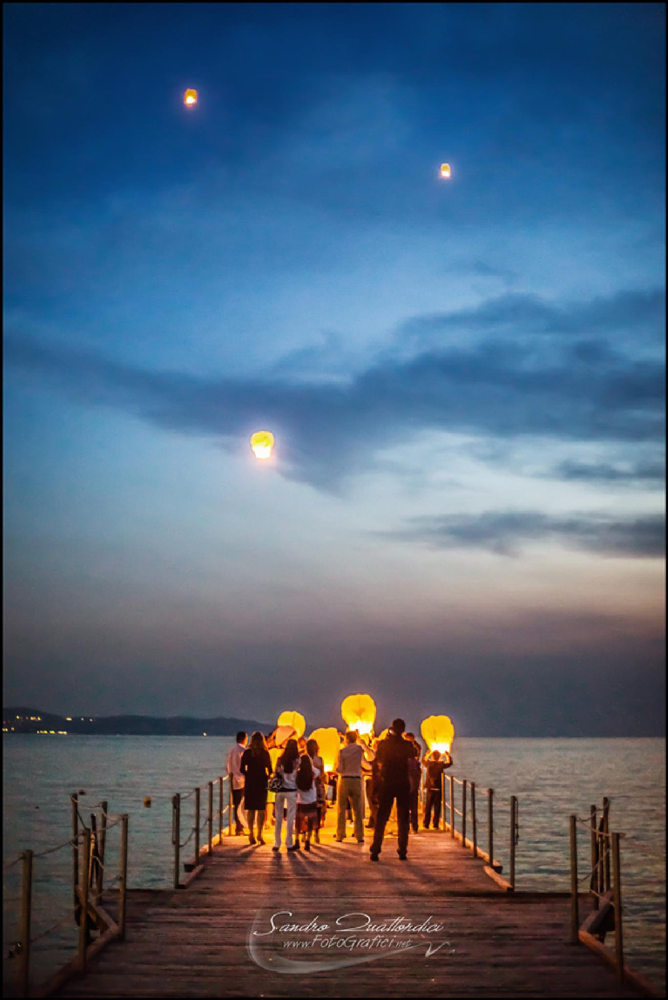 Summer's Lanterns by Sandro Quattordici