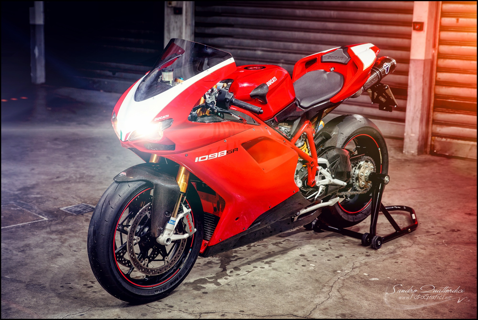 Ducati 1098 S/R Update 2016 by Sandro Quattordici