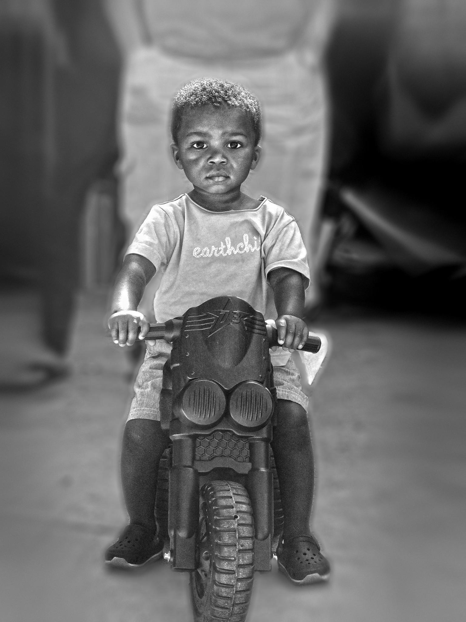 Junior TT rider by renenortje