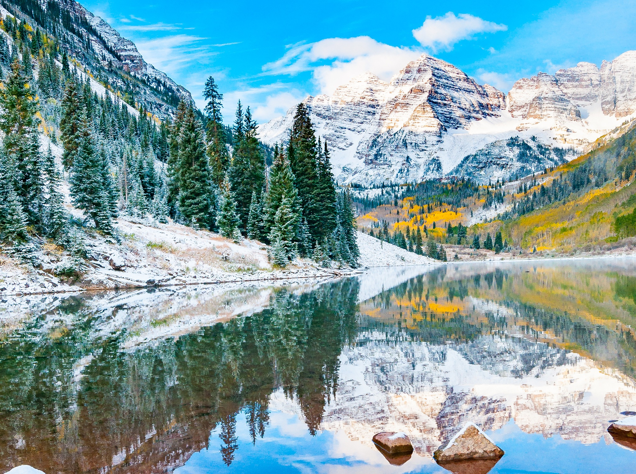 First Snow by Curt Wells