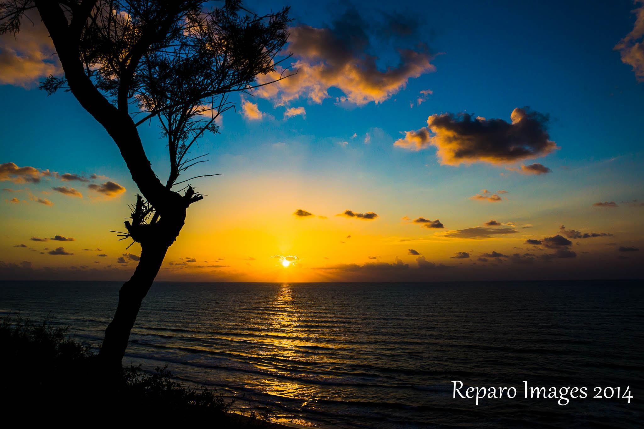 Netanya Sunset by Wenifredo Jr Pecundo Gamban