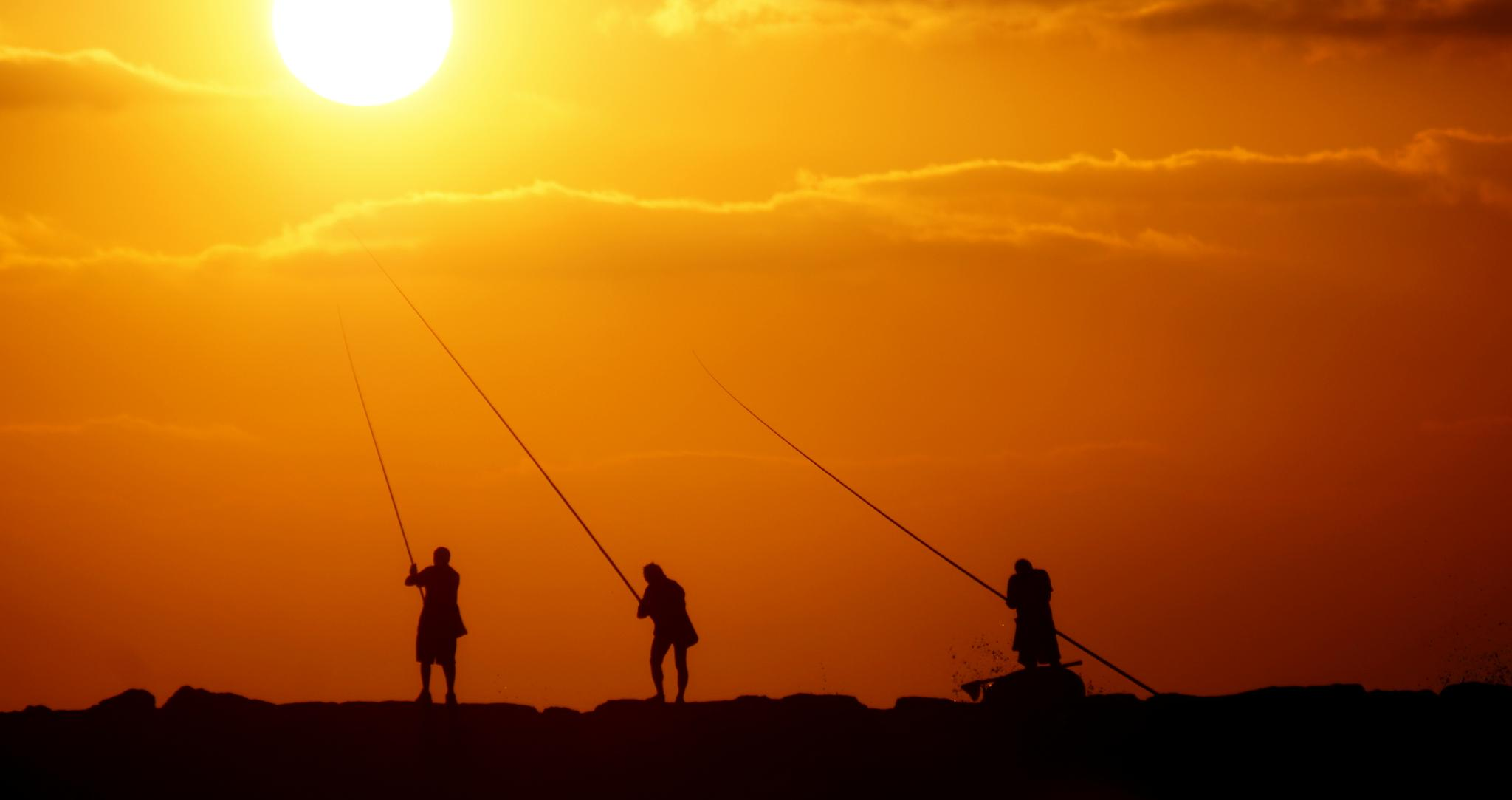 Fishing for the Sun by Wenifredo Jr Pecundo Gamban
