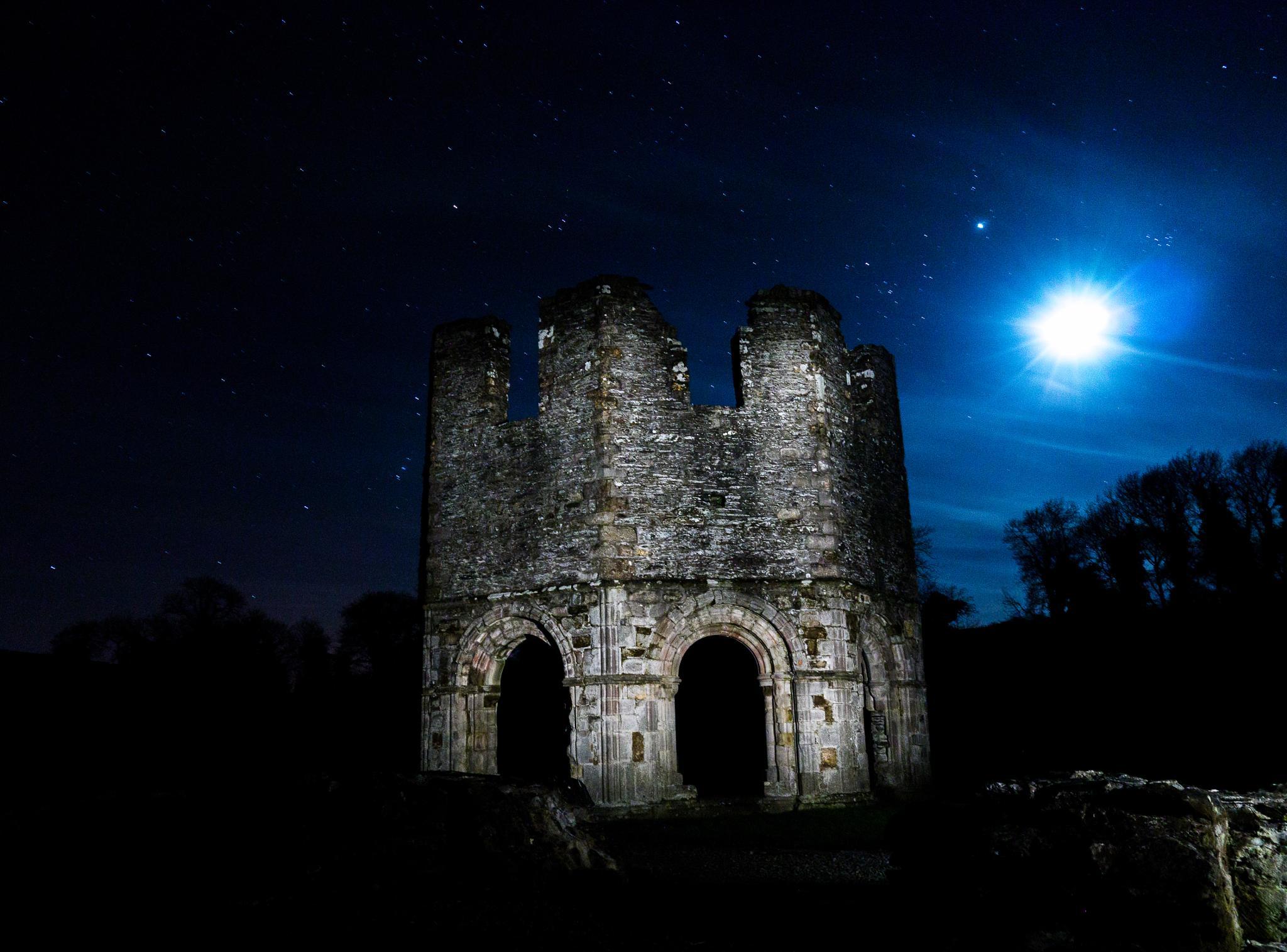 mellifont moon by Daryl O'Liathain