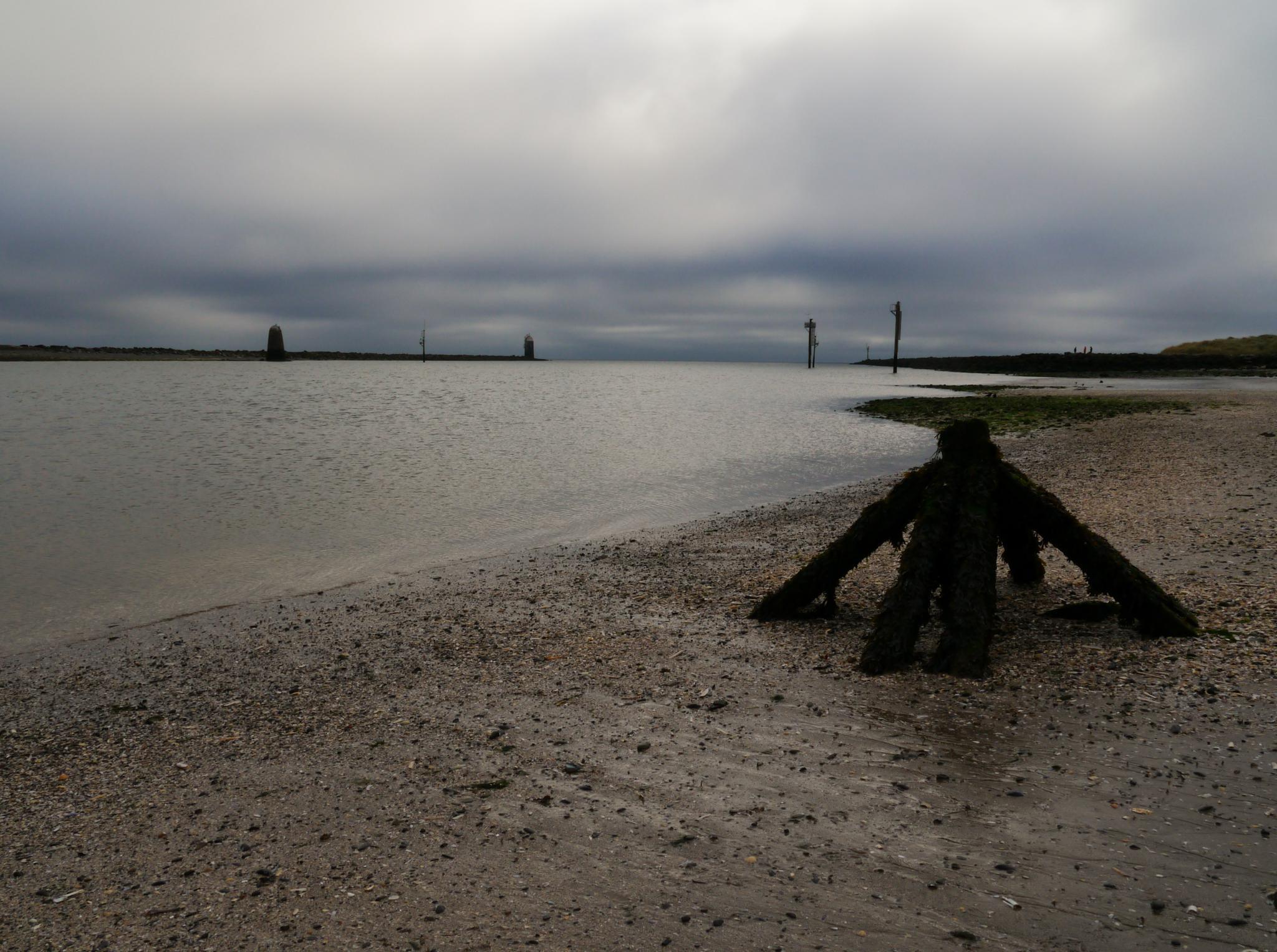 cloudy beach by Daryl O'Liathain