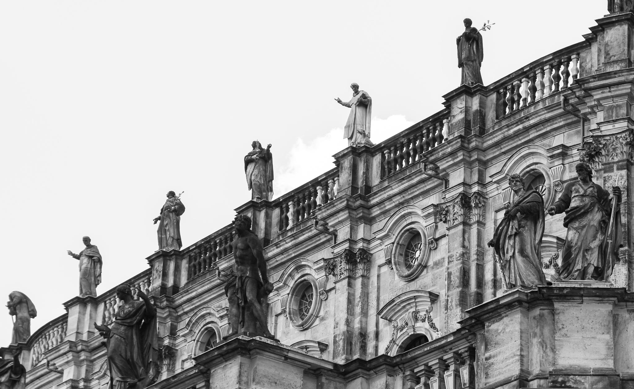 Hofkirche - Dresden  by Heidi Stenmans