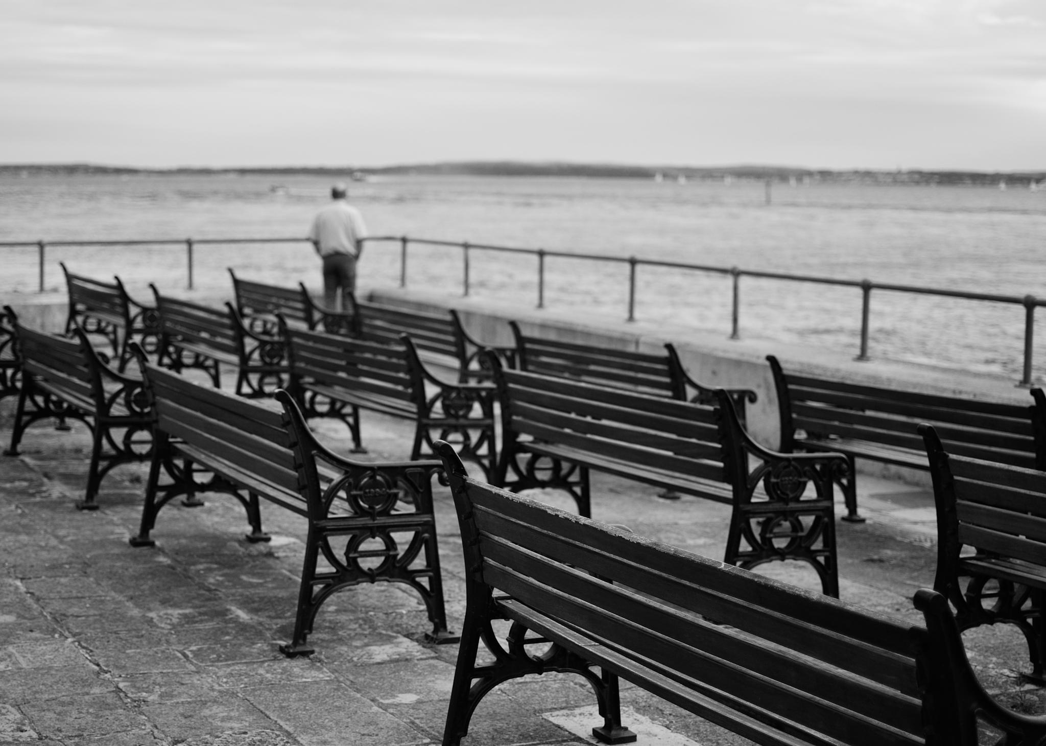 Sit down, please... by Bela Kovacs