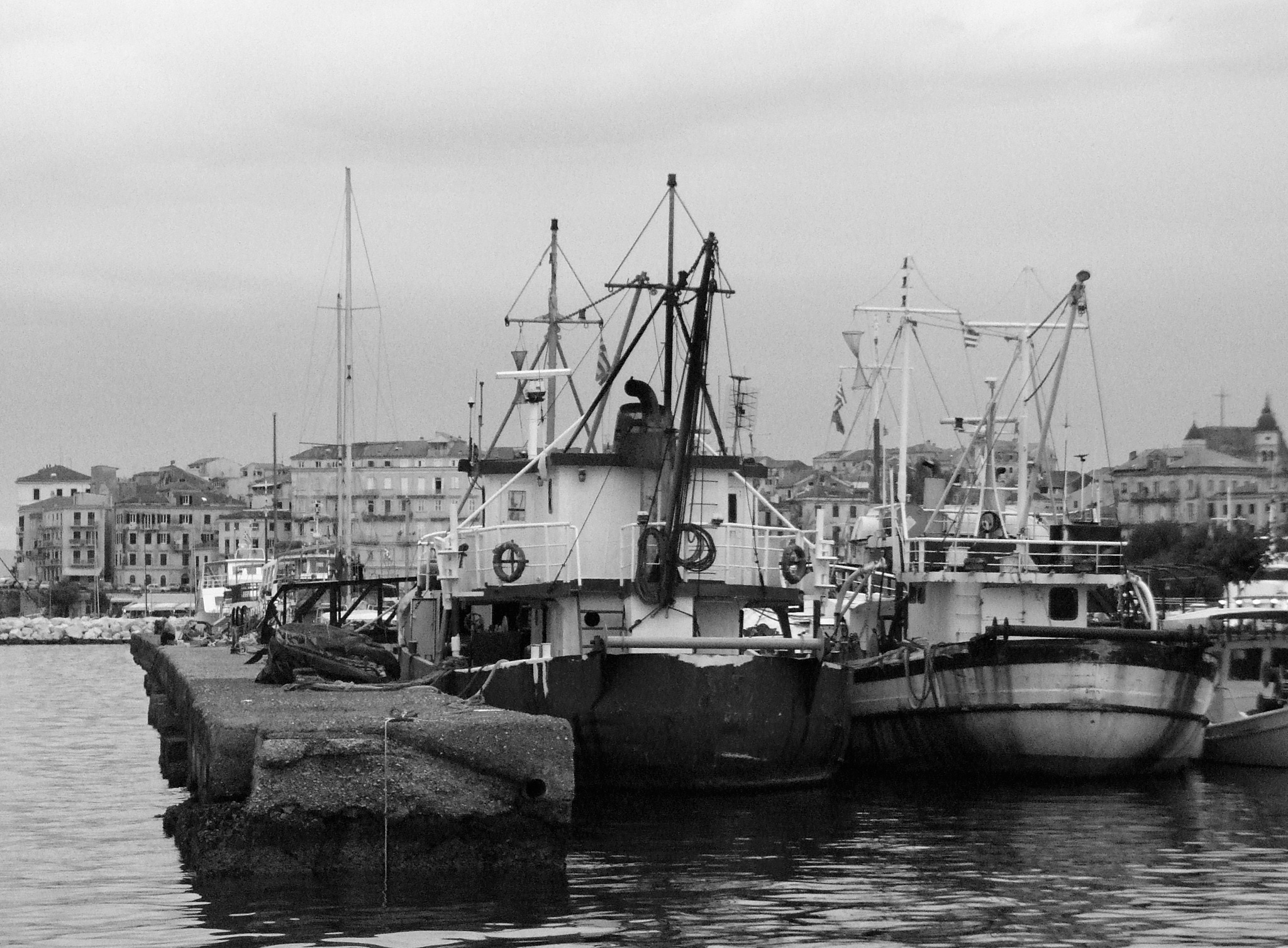 The Old Port by  Sotiris Hartzavalos
