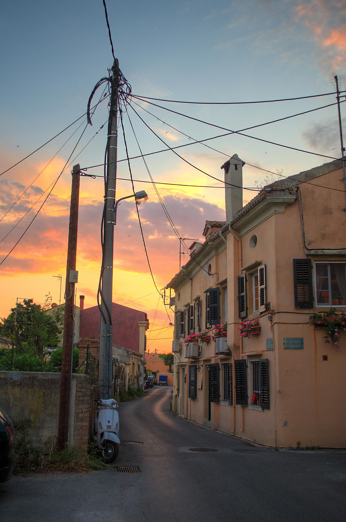 Returning home by  Sotiris Hartzavalos