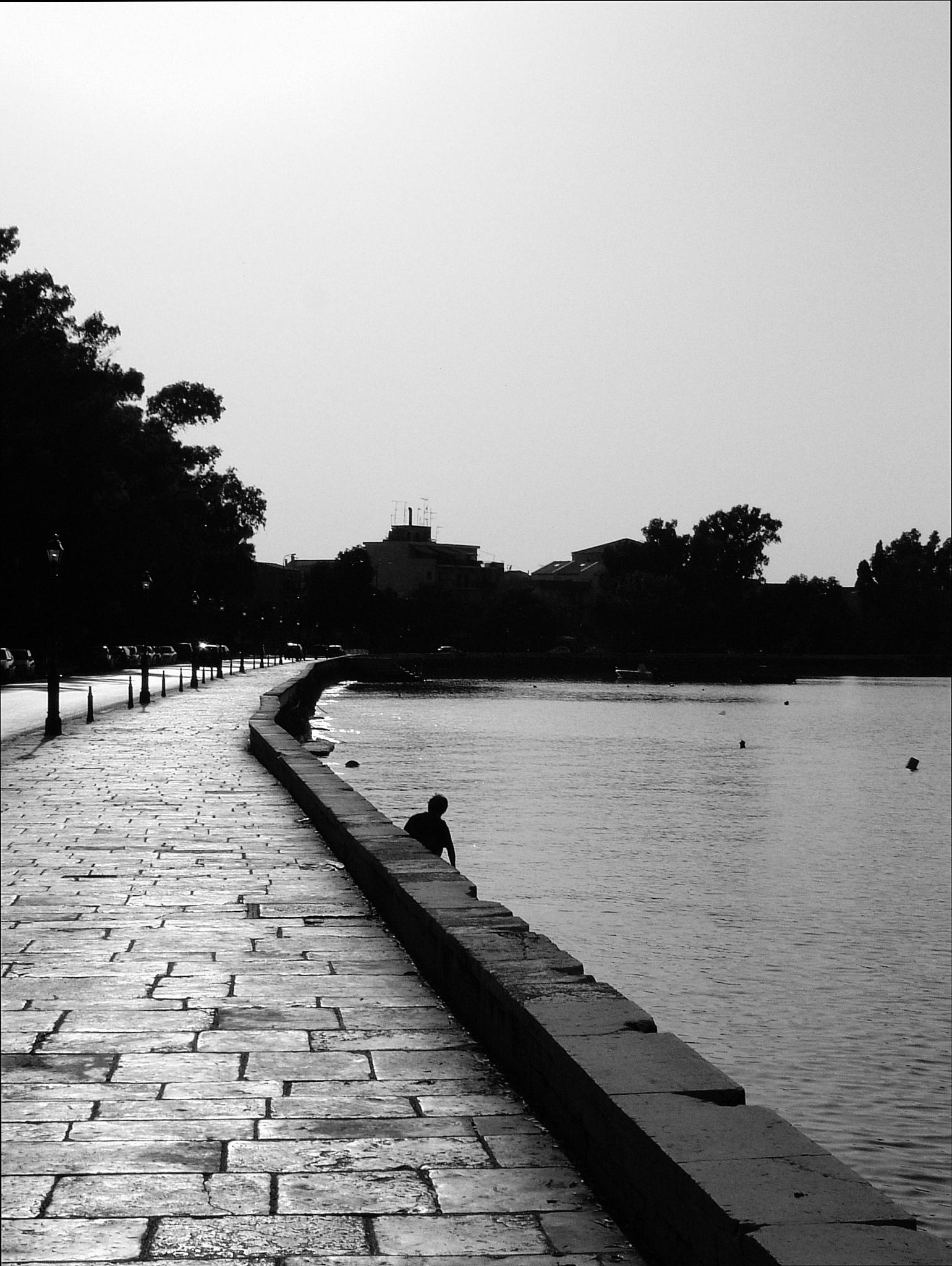Evening shadow by  Sotiris Hartzavalos
