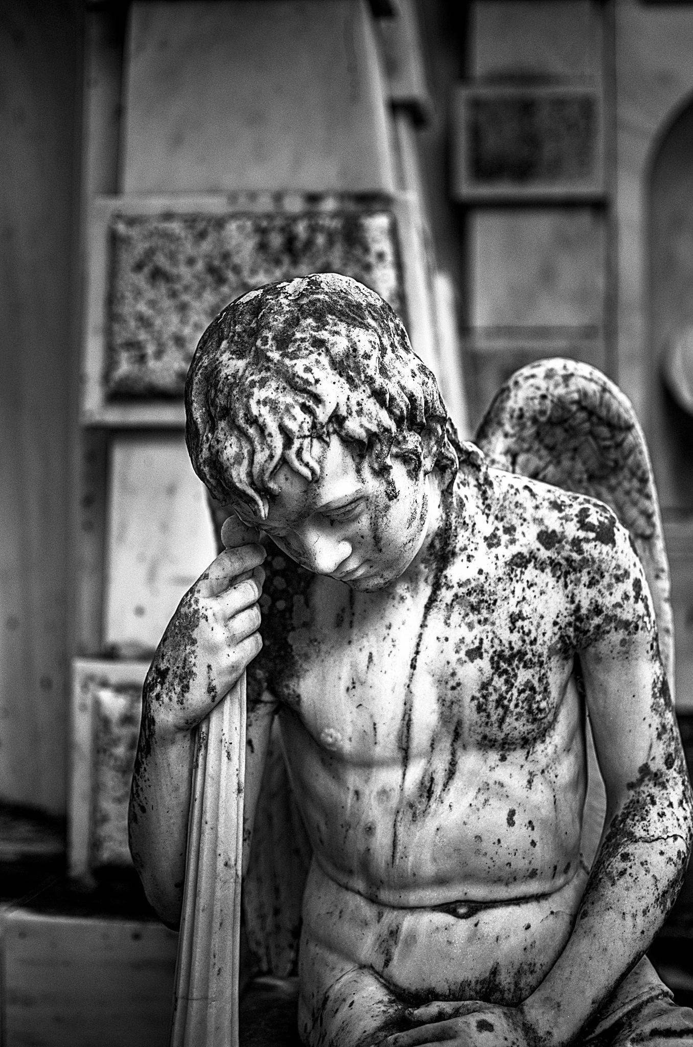 Sad Angel  by  Sotiris Hartzavalos